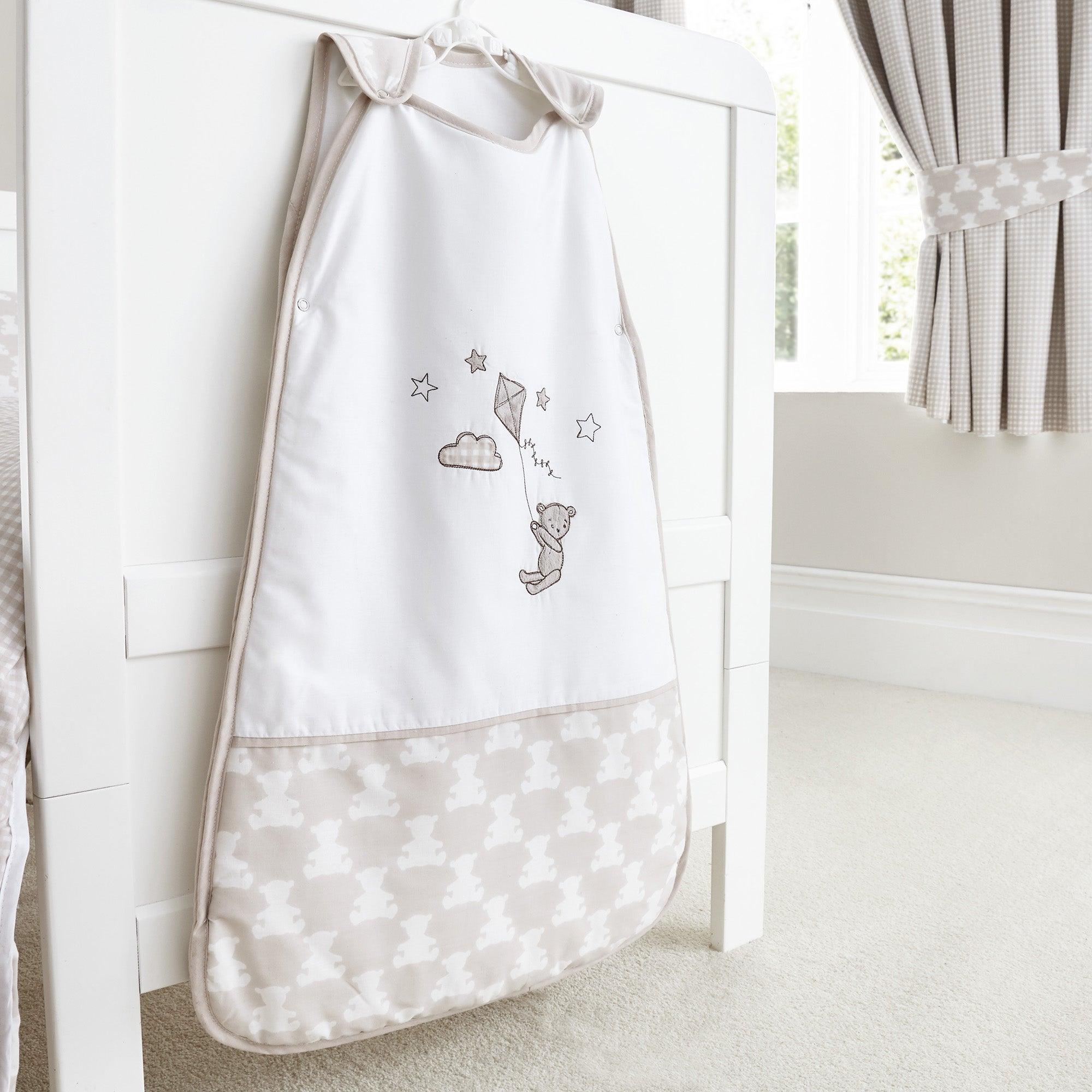 Image of Archie Bear Nursery Sleepbag Natural