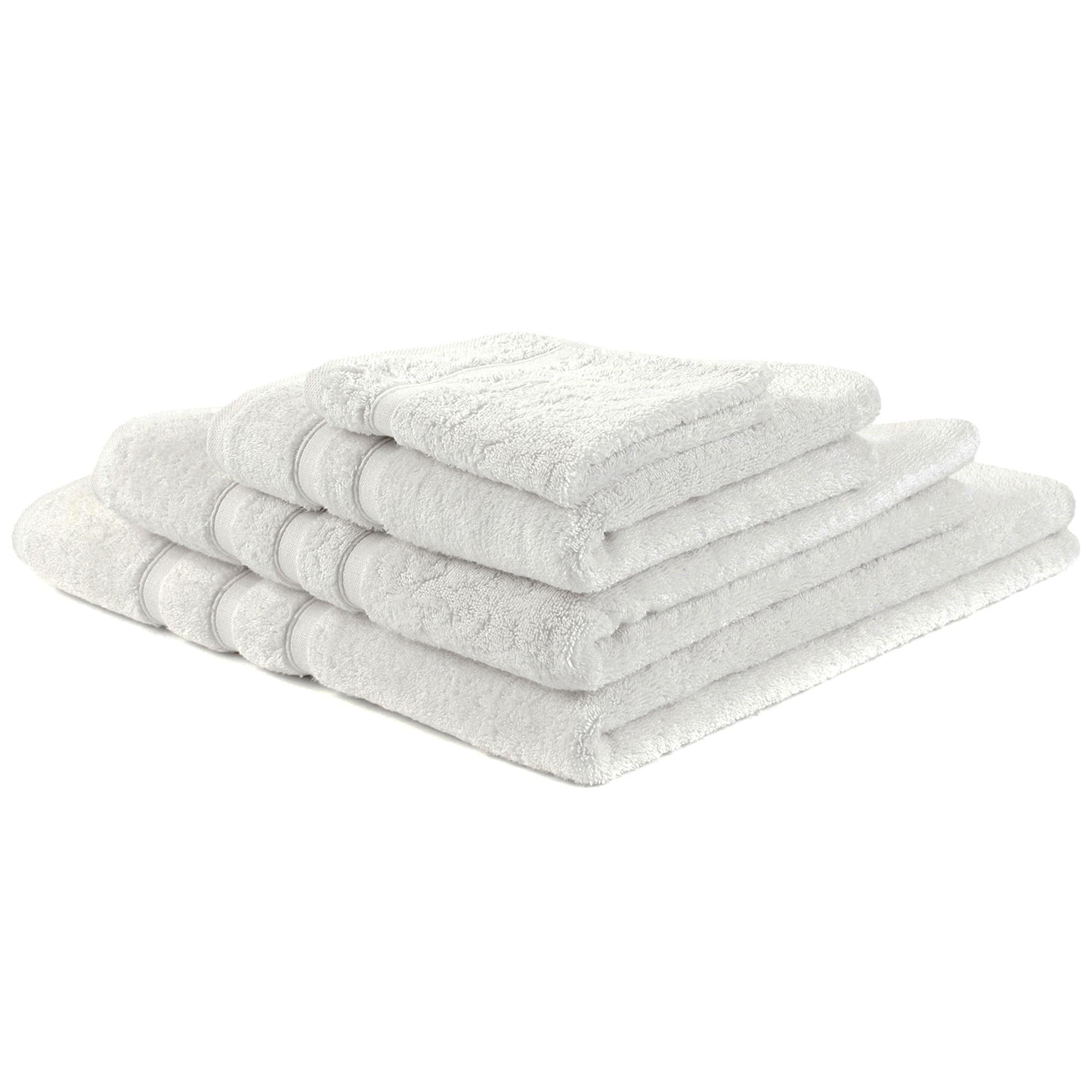 Photo of Hotel white pima towel white