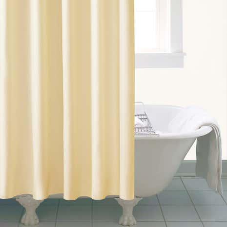 Ceramic Extra Long Shower Curtain | Dunelm