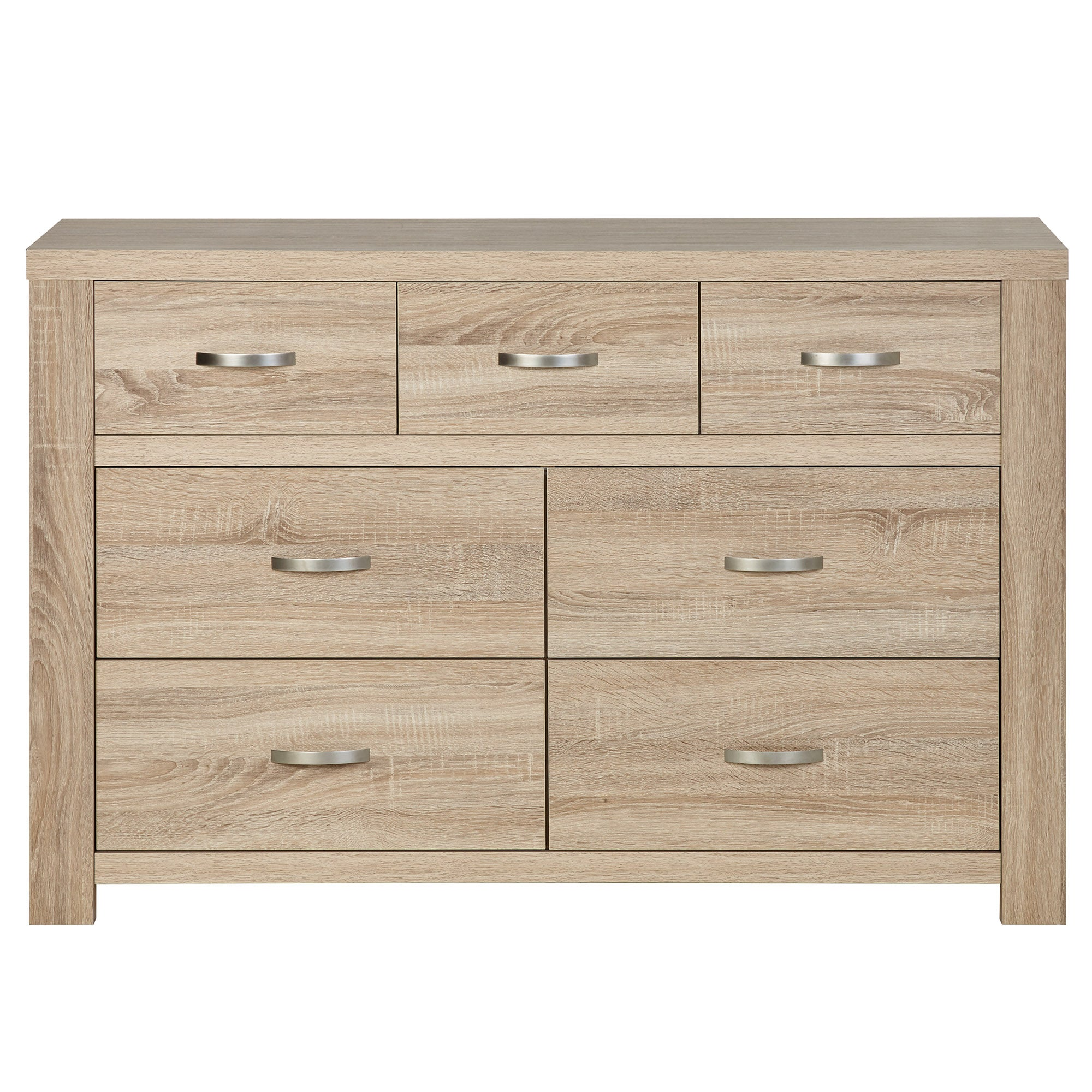 Photo of York 7 drawer chest natural