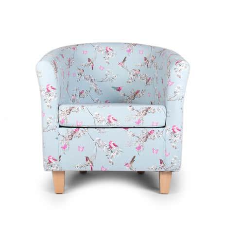beautiful birds tub chair | dunelm