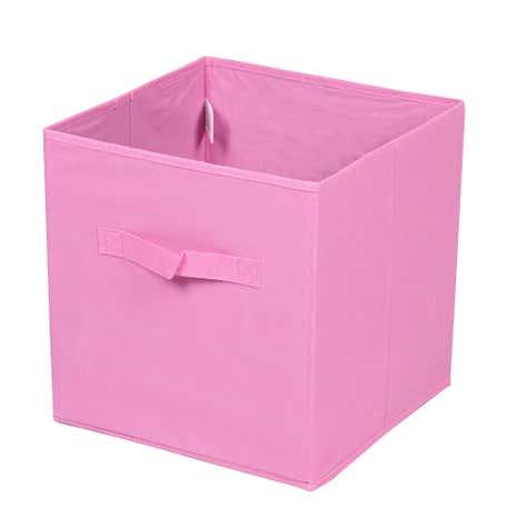 Pink Non Woven Storage Box