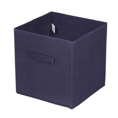 Superb Navy Non Woven Storage Box