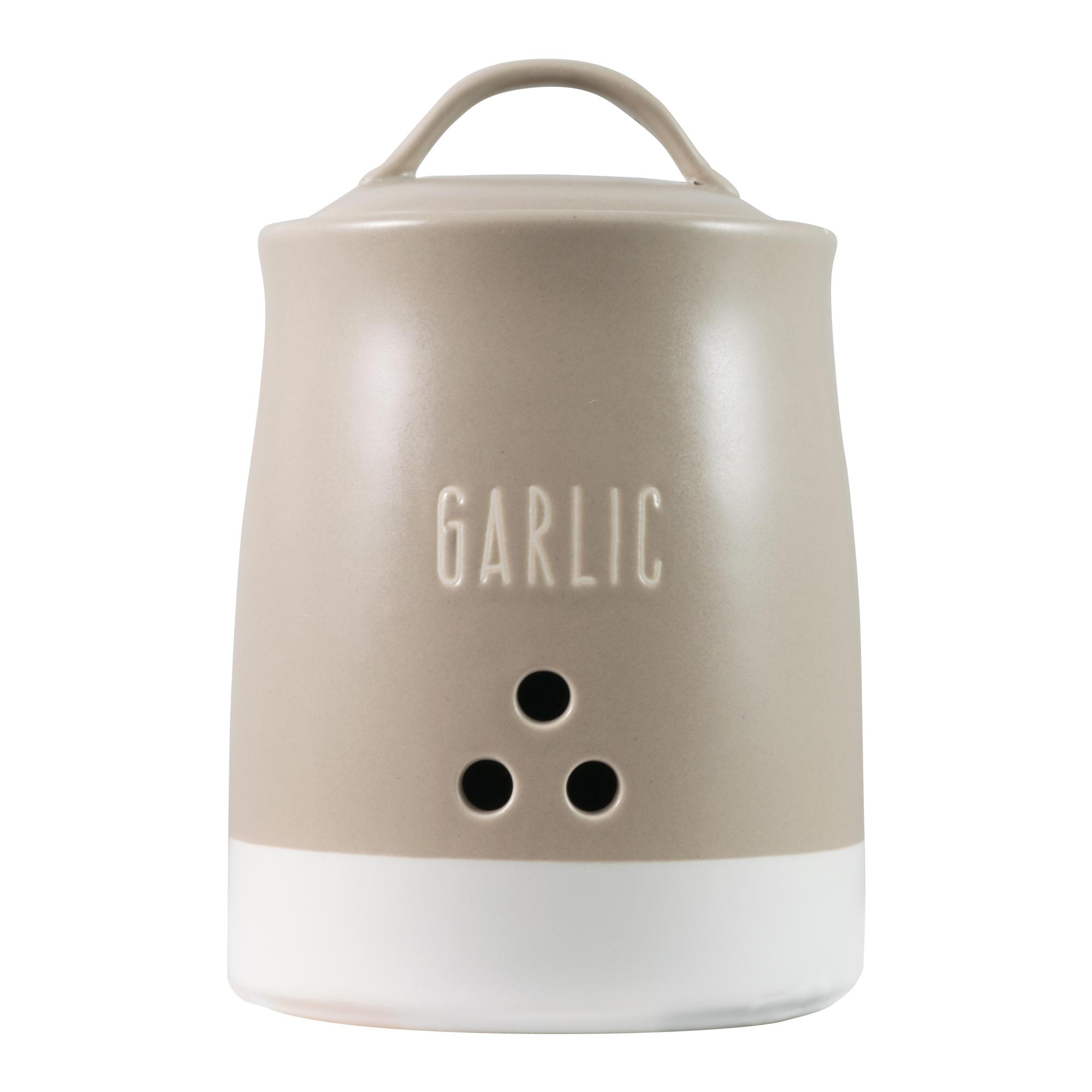 Image of Rustic Romance Garlic Canister Assorted