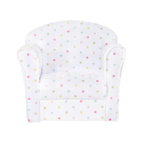 Kids Polka Dot Armchair