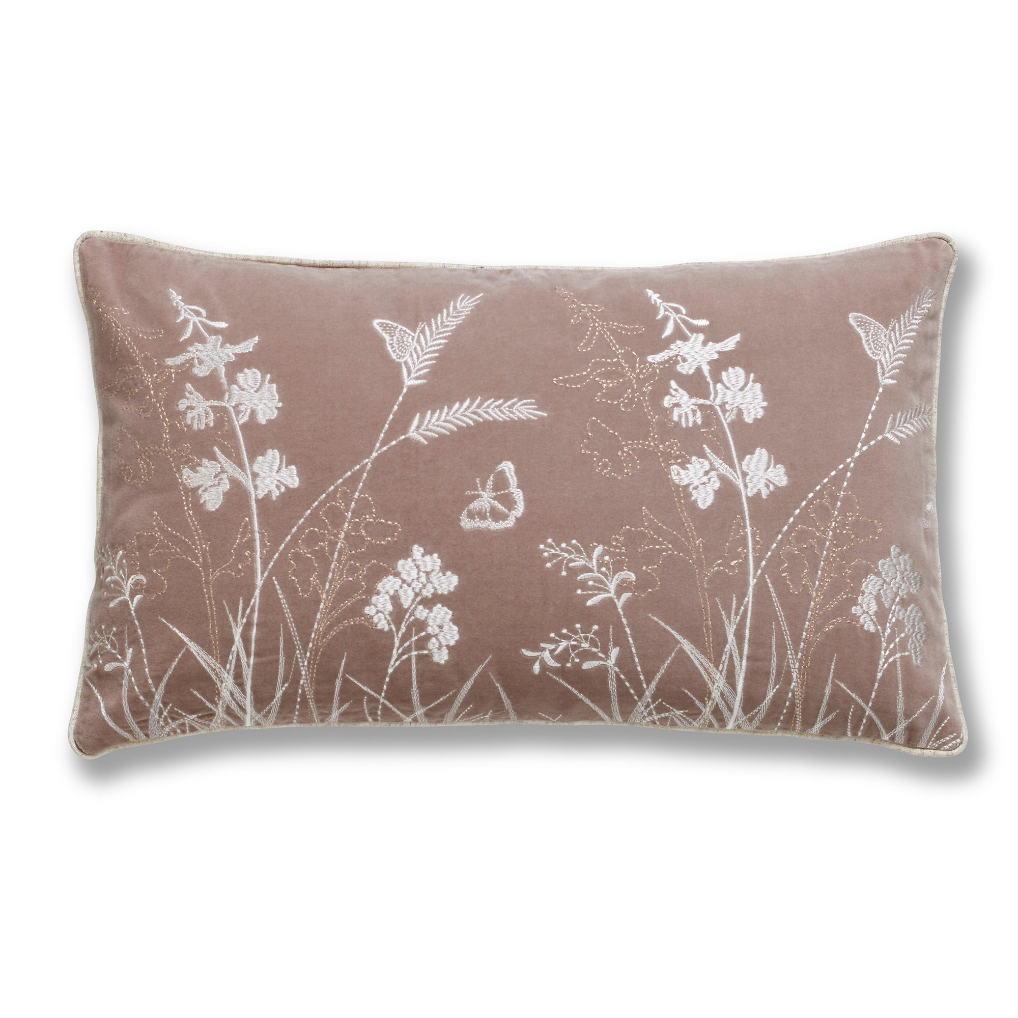 Photo of Natural rustic romance cushion natural brown