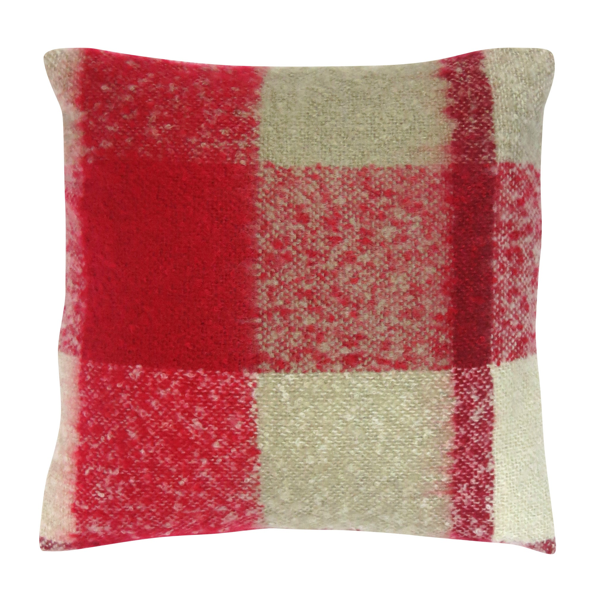Photo of Checked cushion red