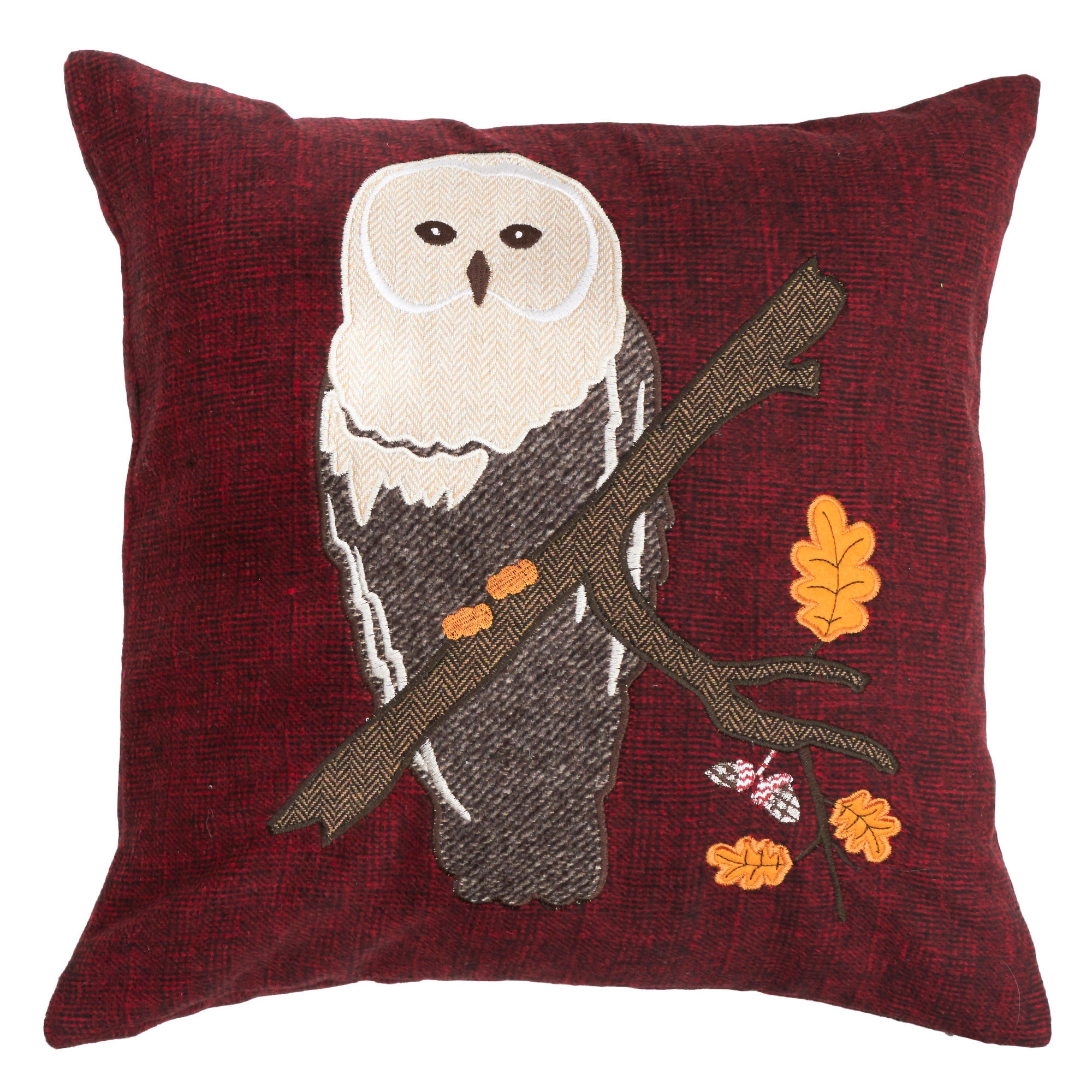 Photo of Appliqued owl cushion assorted