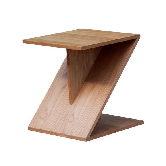 Zen Oak Side Table Dunelm