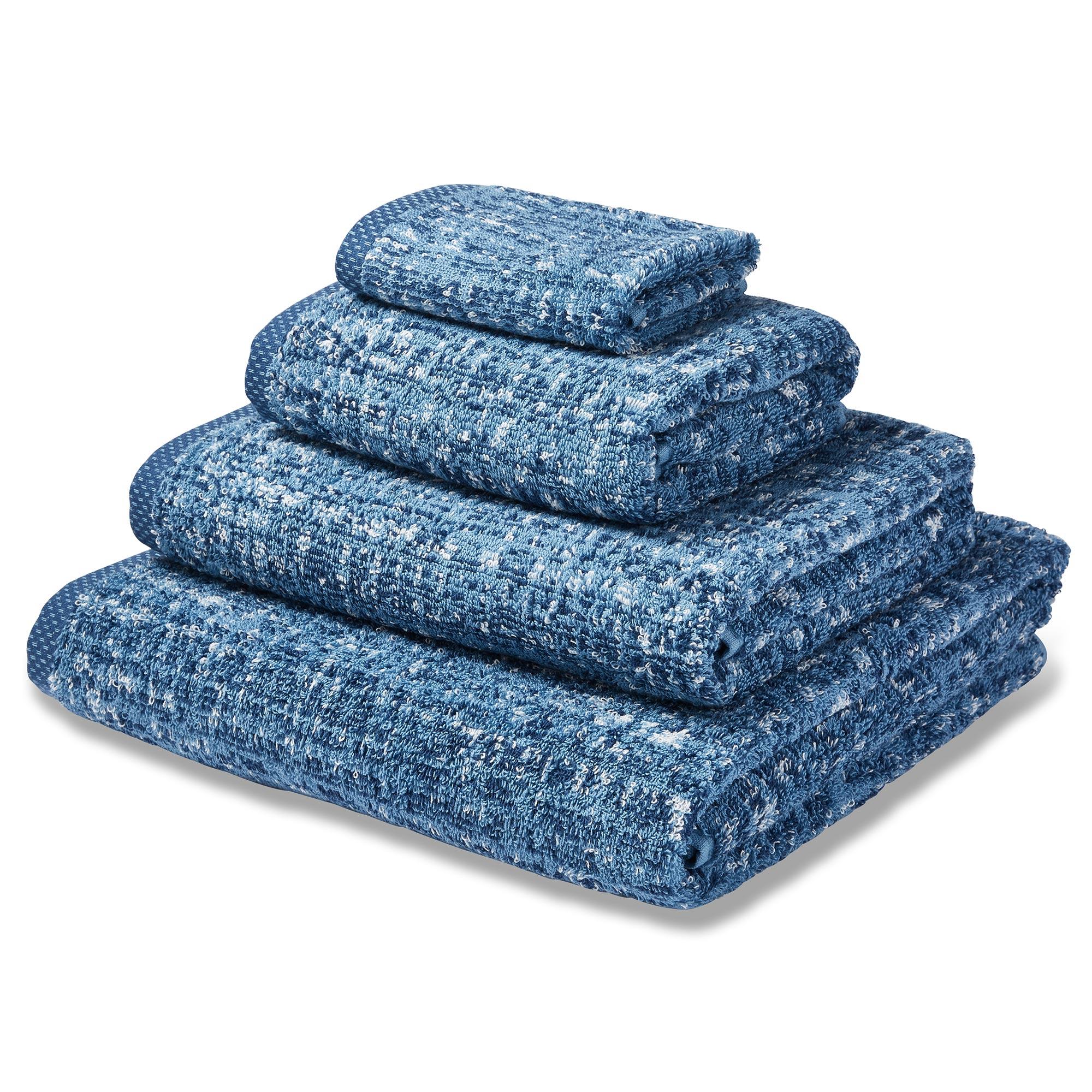 Photo of Regeneration indigo towel indigo blue