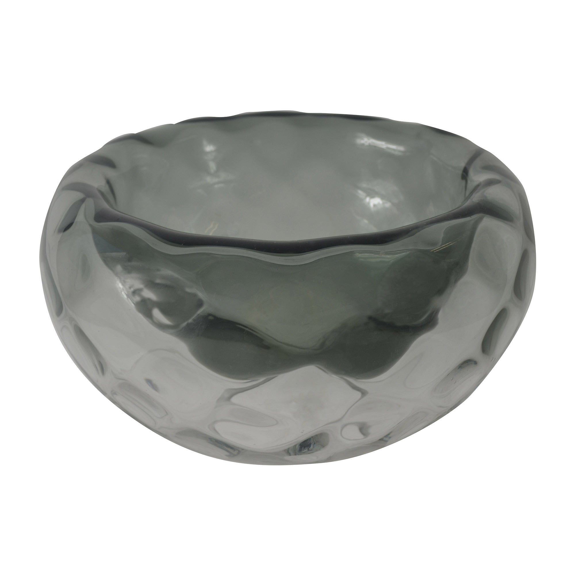 Photo of Hotel glass optic grey bowl grey