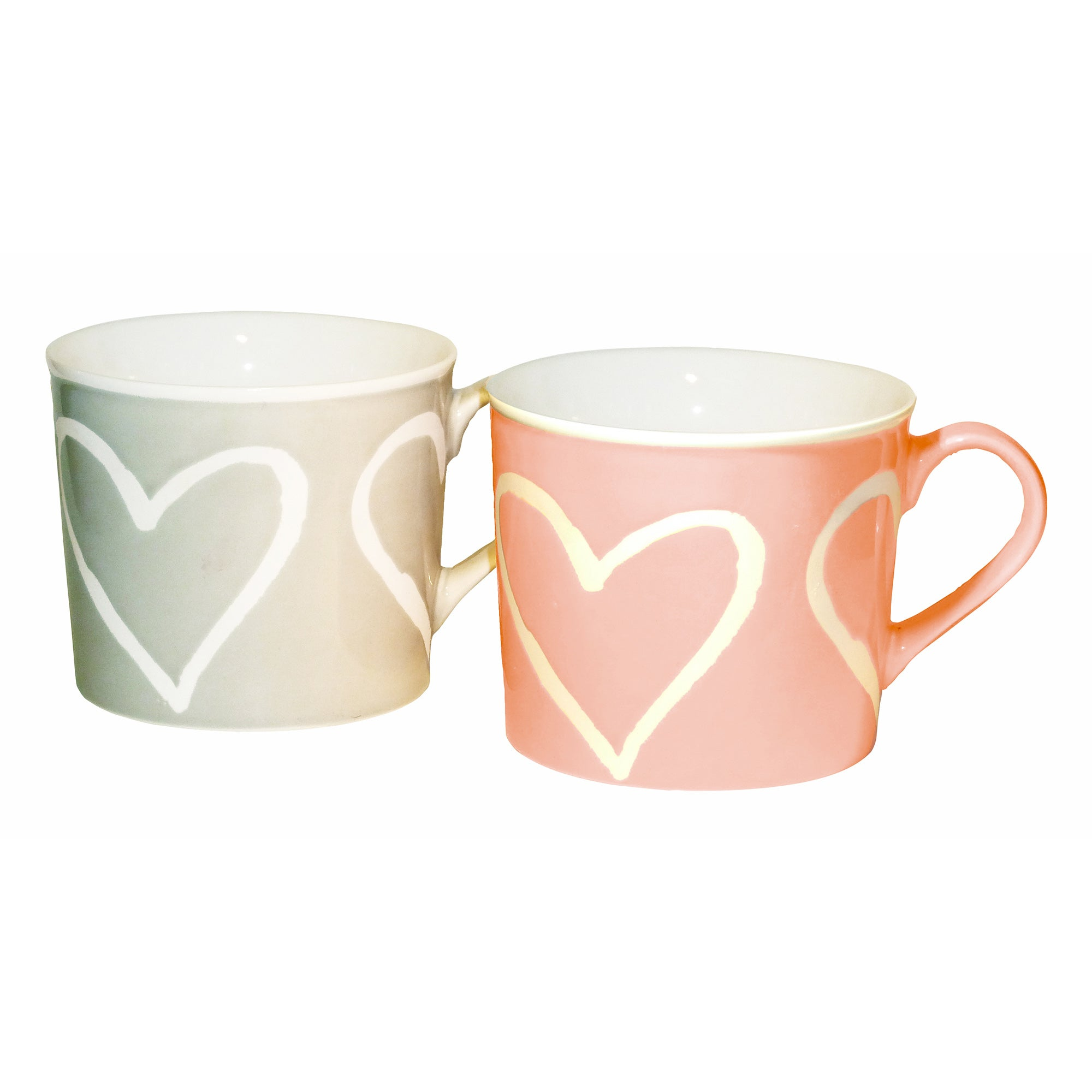 Image of 2 Hearts Mugs Assorted