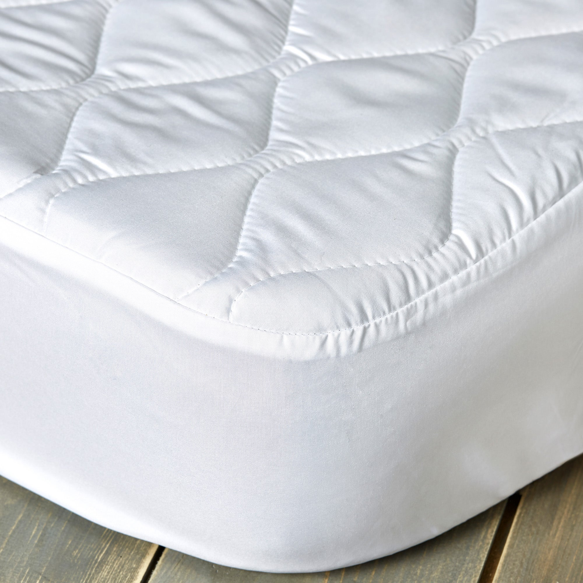 Image of Fogarty Anti-Allergy 35cm Deep Mattress Protector White