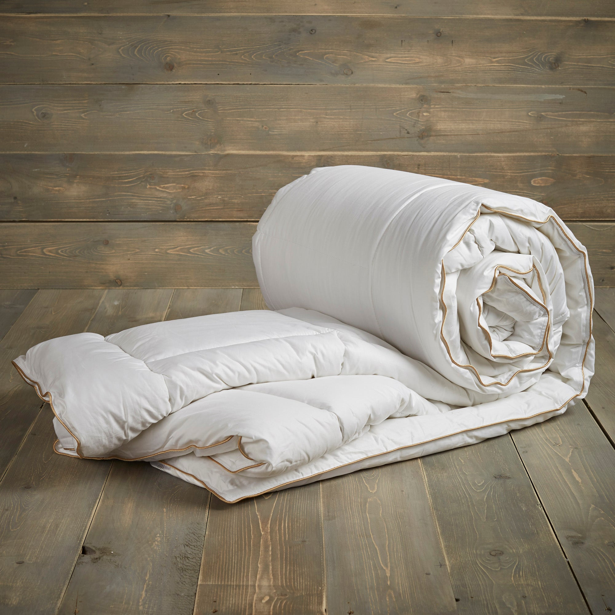 Image of Dorma Luxurious Silk 10.5 Tog Duvet White