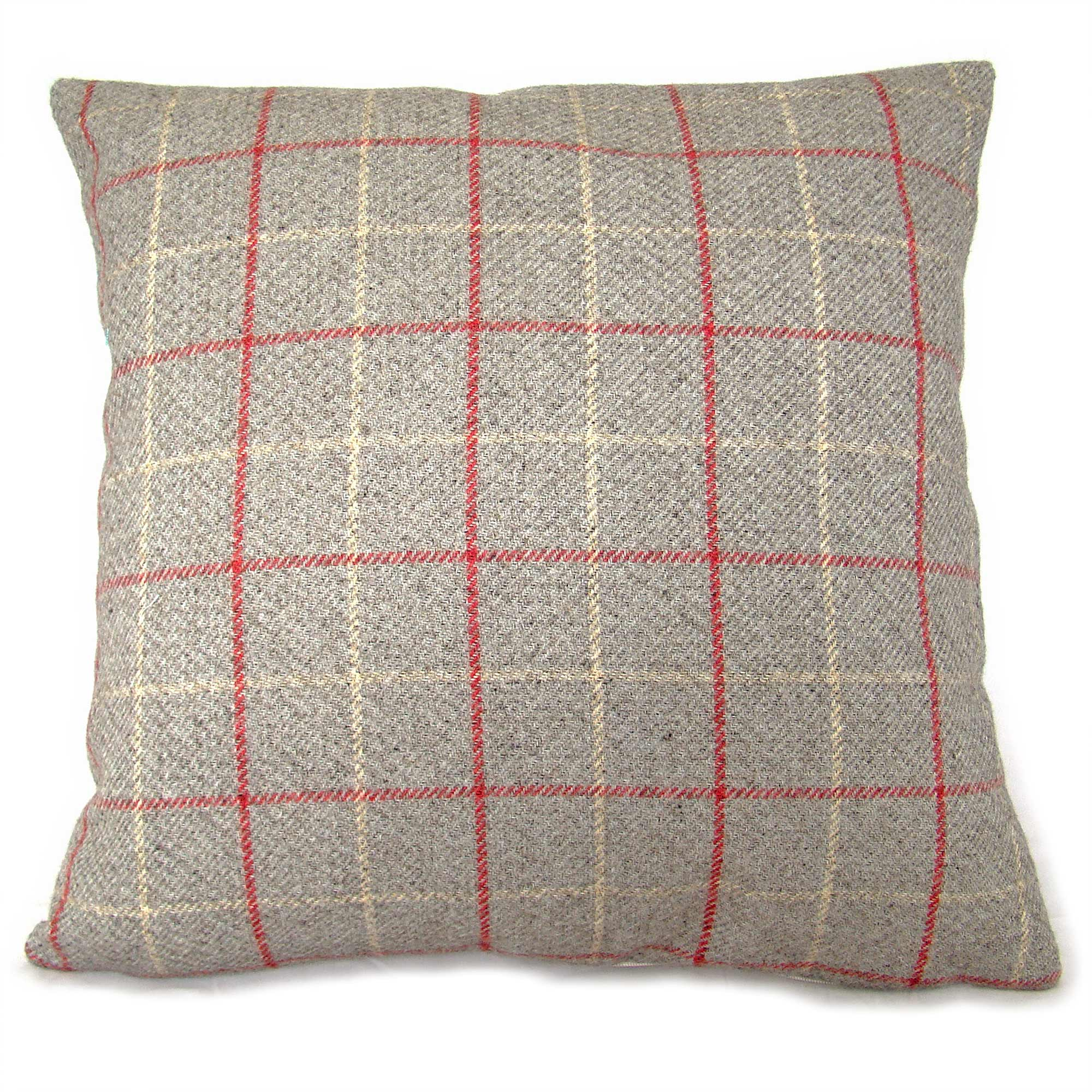 Photo of Banburgh cushion cover cherry red