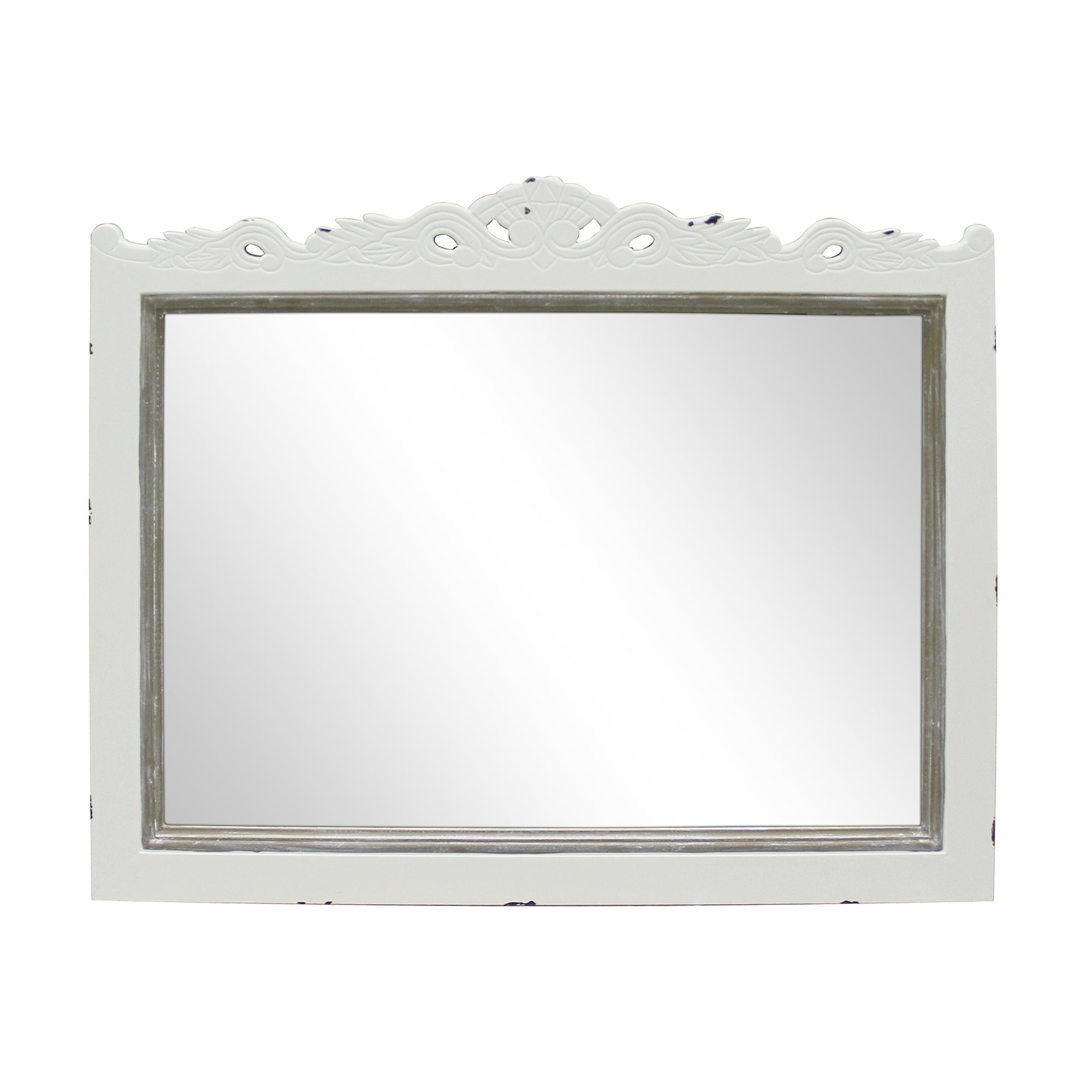 Photo of Camille ivory wall mirror ivory