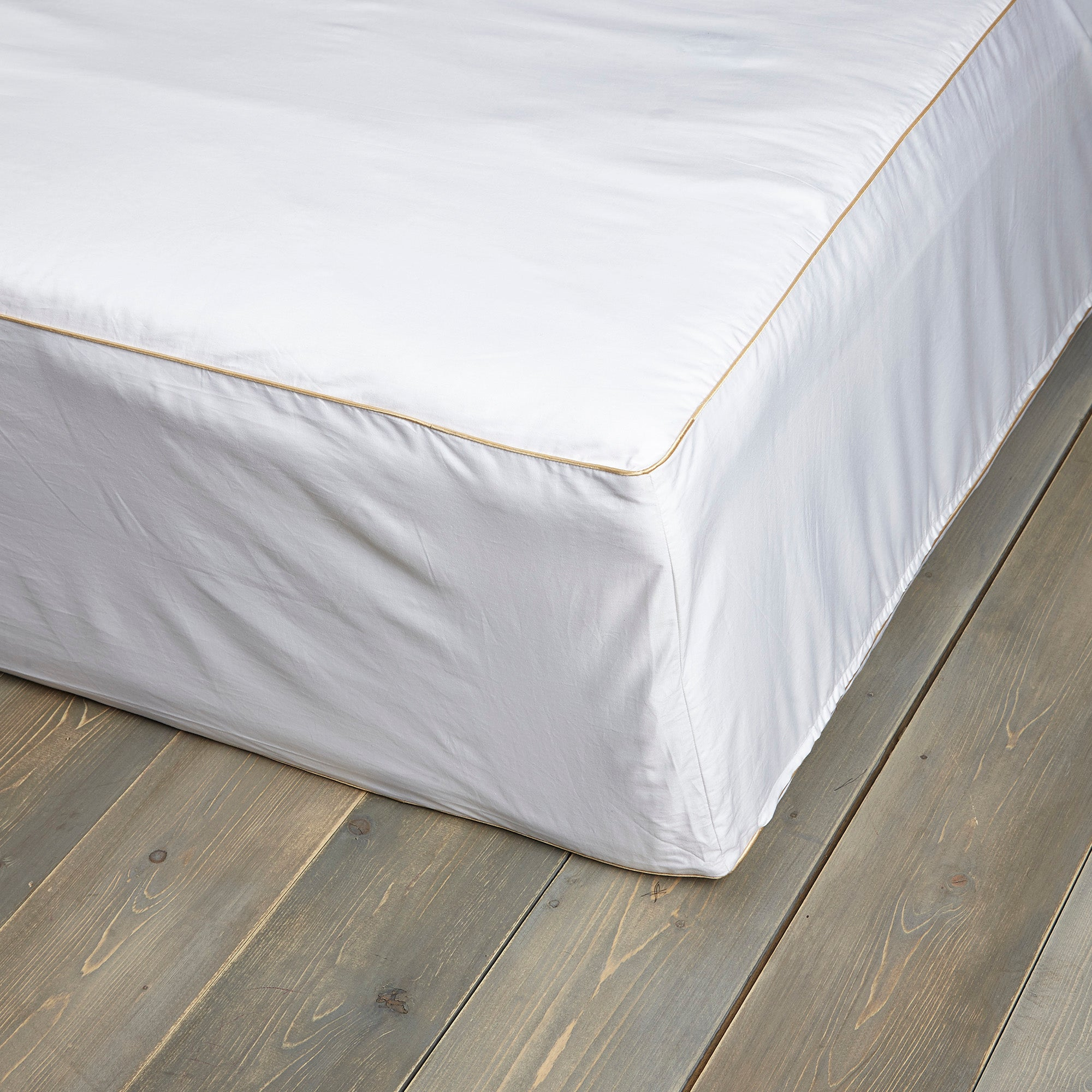 Image of Dorma Cotton Sateen Mattress Protector White