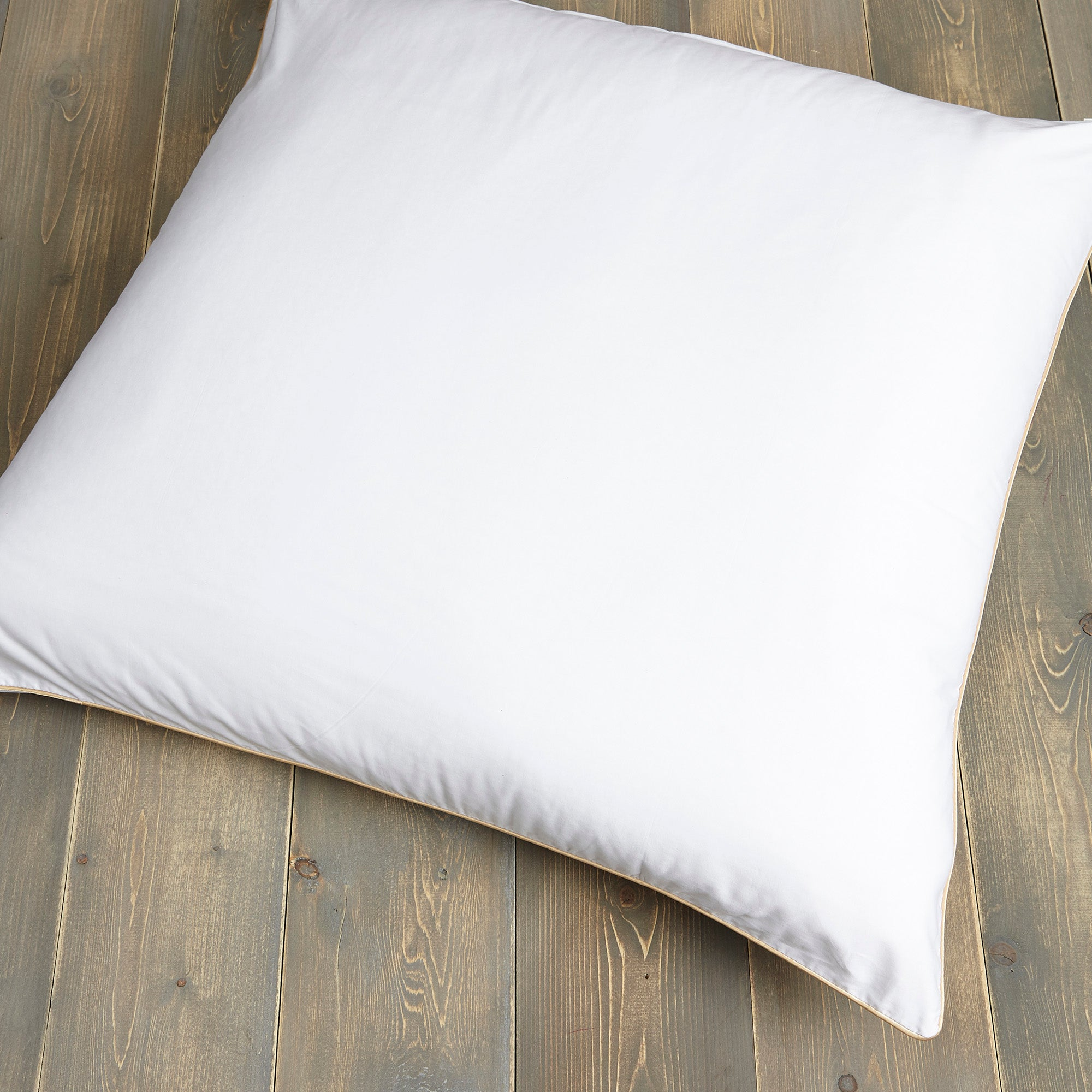 Image of Dorma Cotton Sateen Continental Pillow Protector White