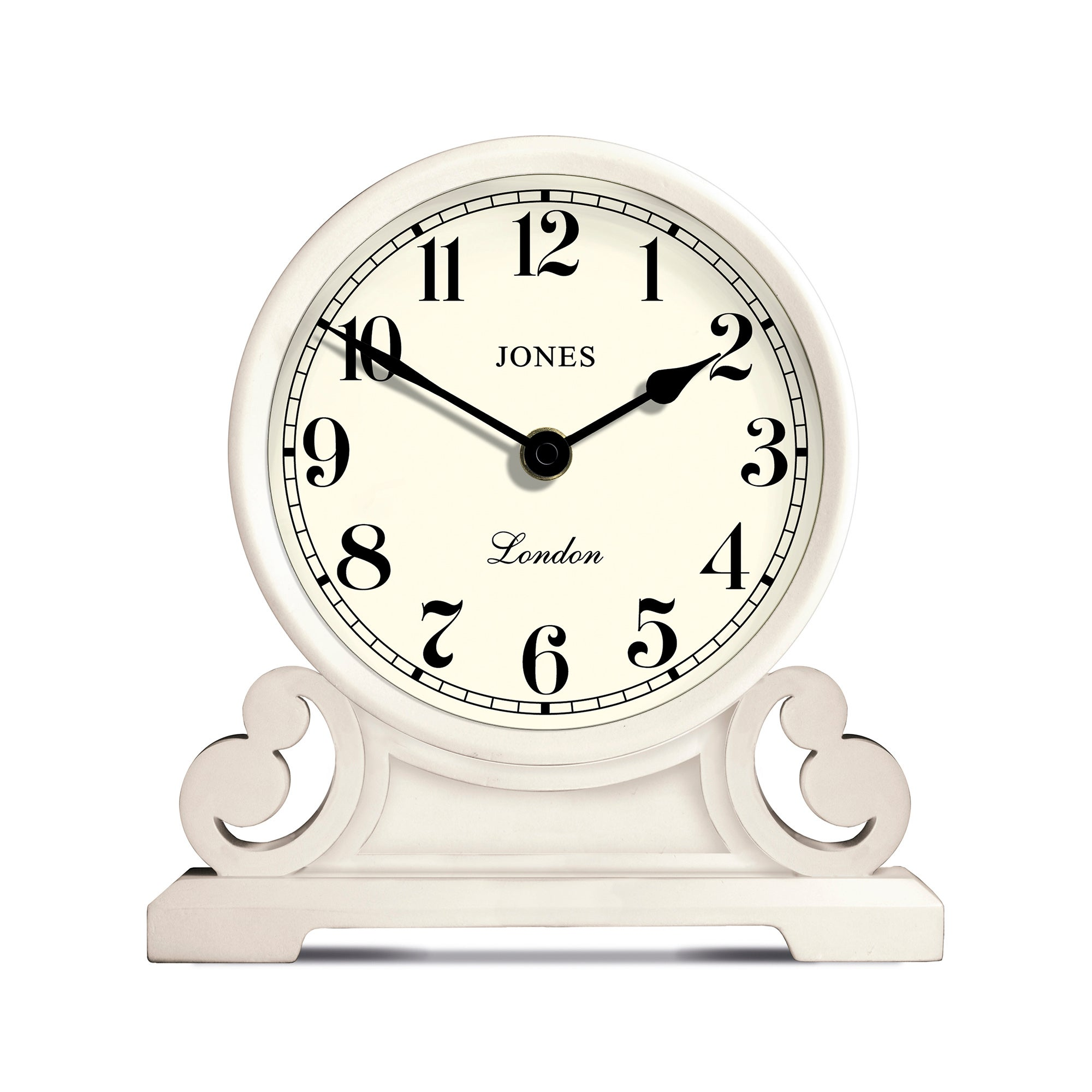 Image of Jones Middleton Mantle Clock Cream