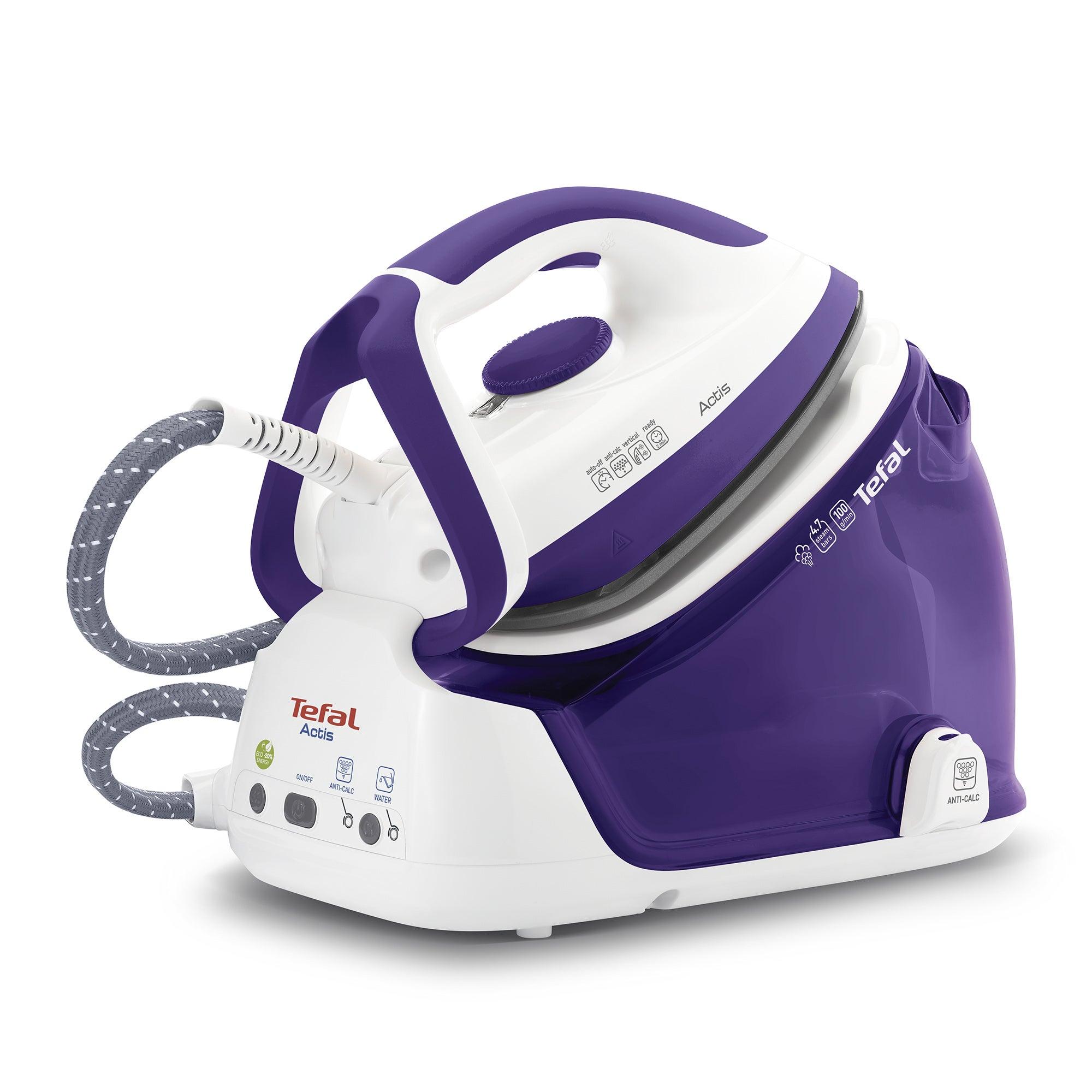 Tefal Actis Steam Generator GV6340 Purple