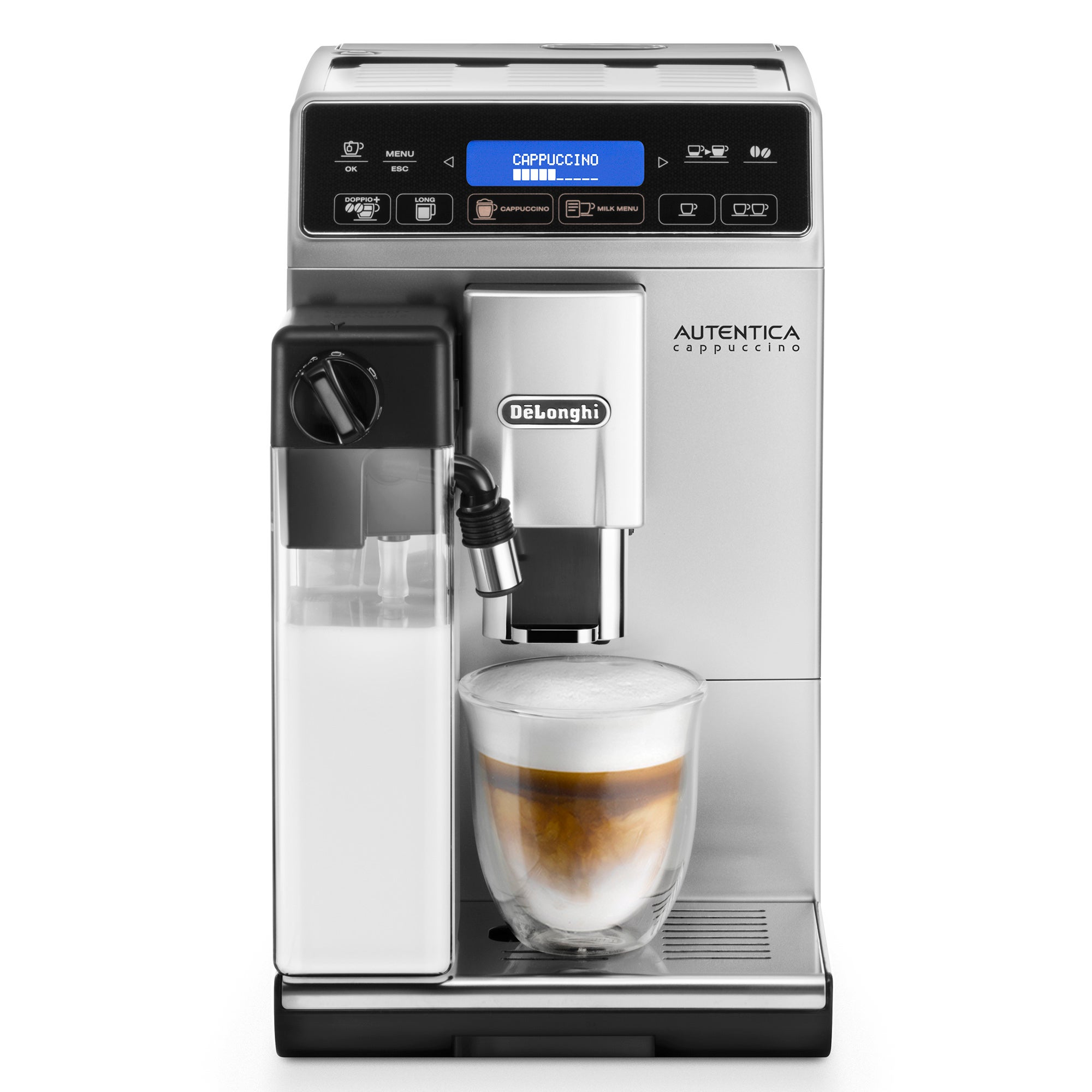 Photo of Delonghi authentica cappuccino b2c coffee machine etam29.660.sb black