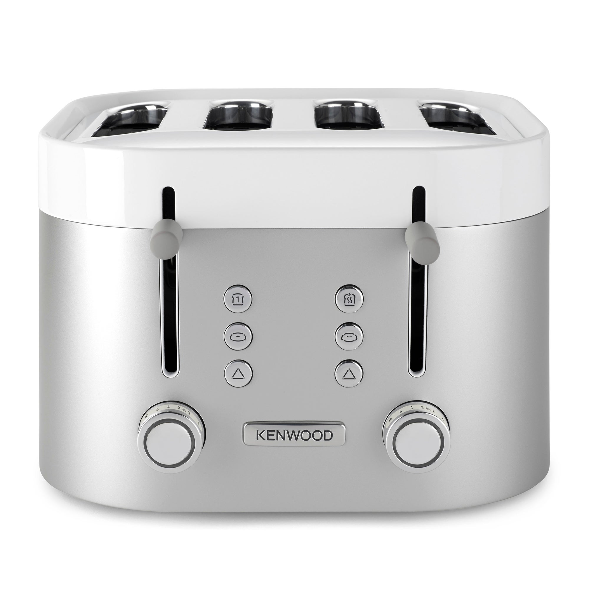 Kenwood Ksense TFM400TT Matt Finish 4 Slice Toaster Stainless Steel