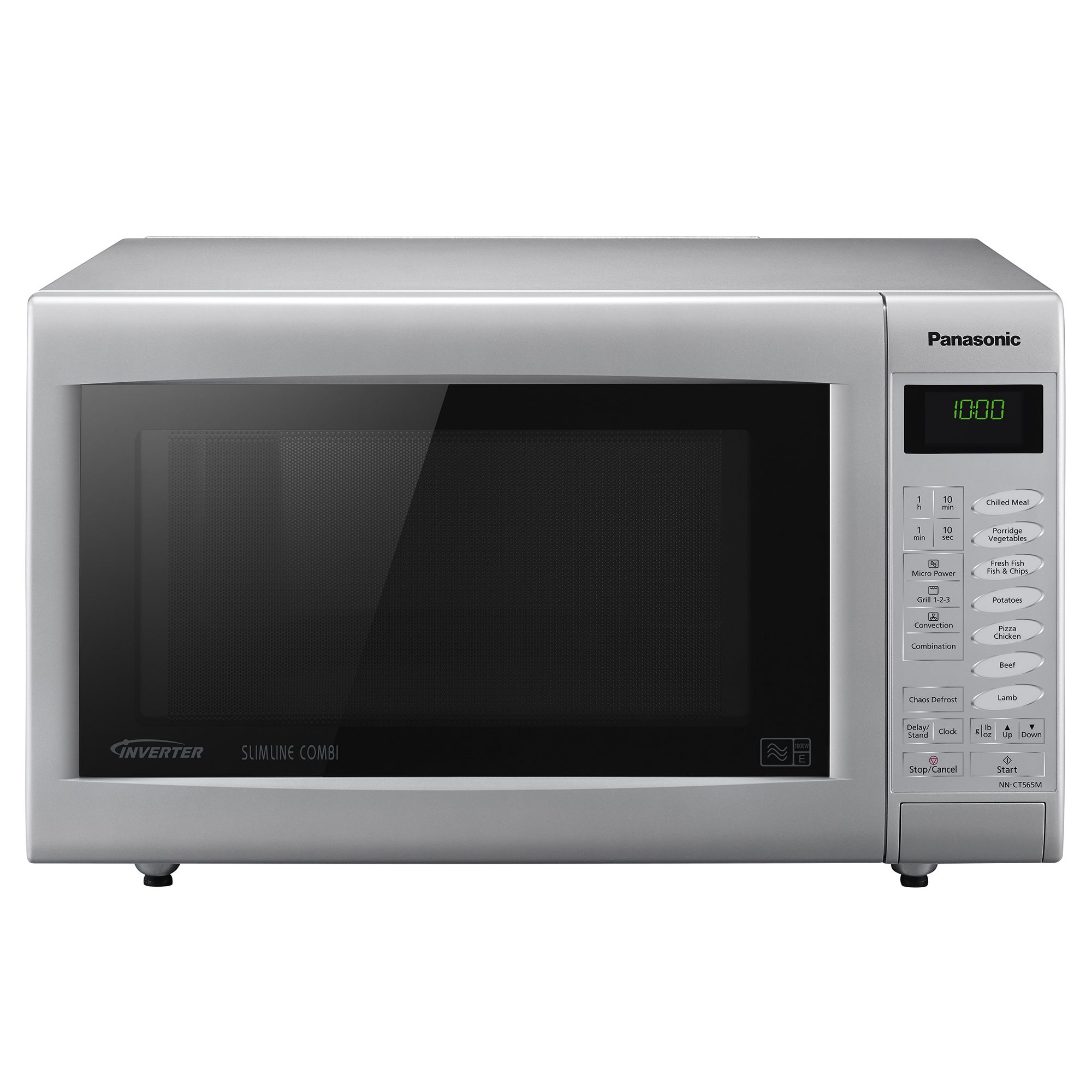 Panasonic NNCT565MBPQ Silver 3 in 1 Combination Microwave Oven and Grill Silver