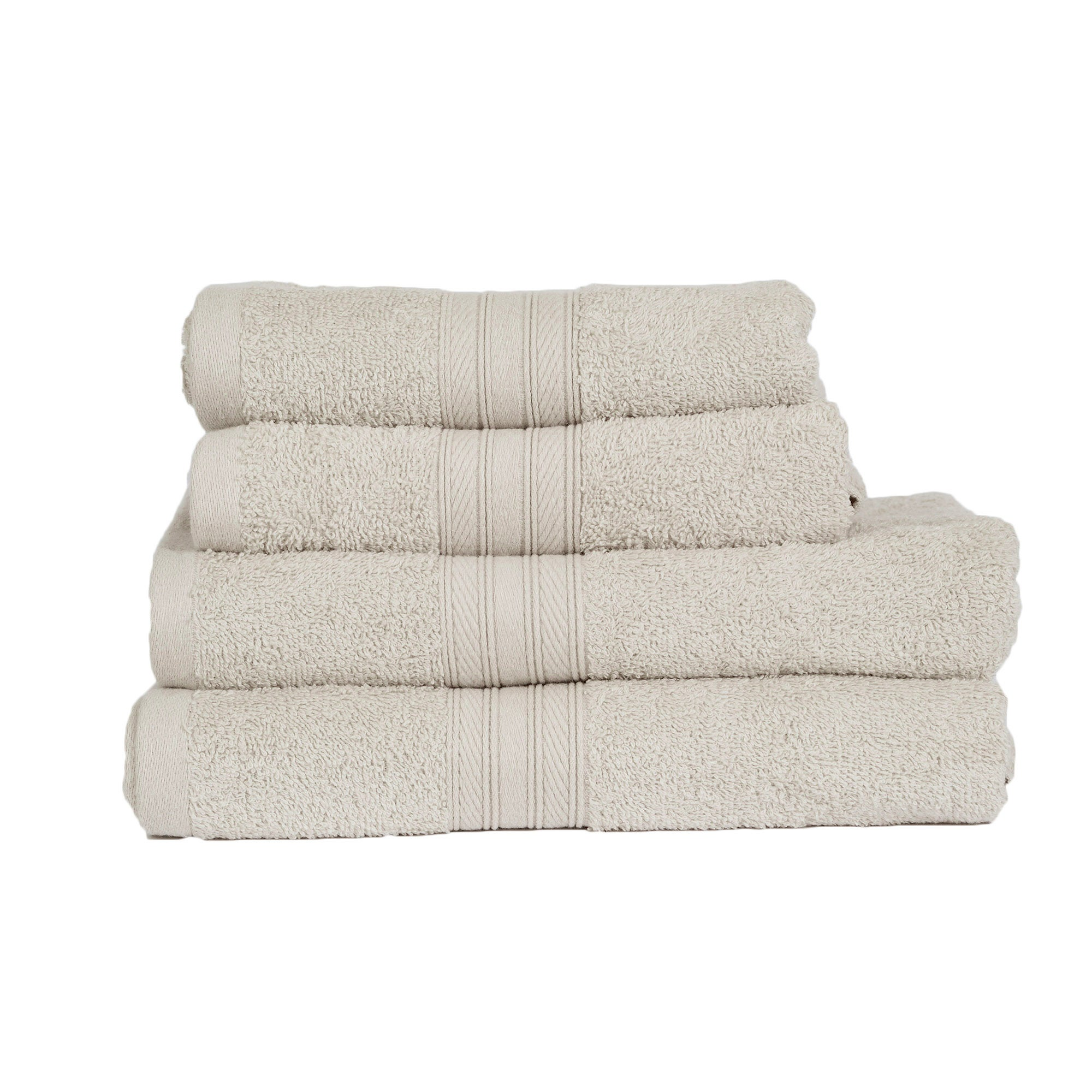 Photo of 4 piece natural towel bale natural
