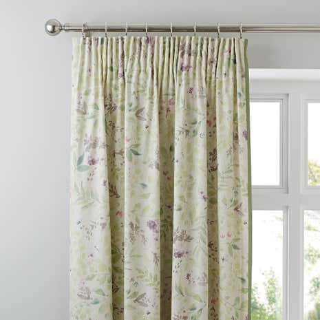Wisley Lined Pencil Pleat Curtains