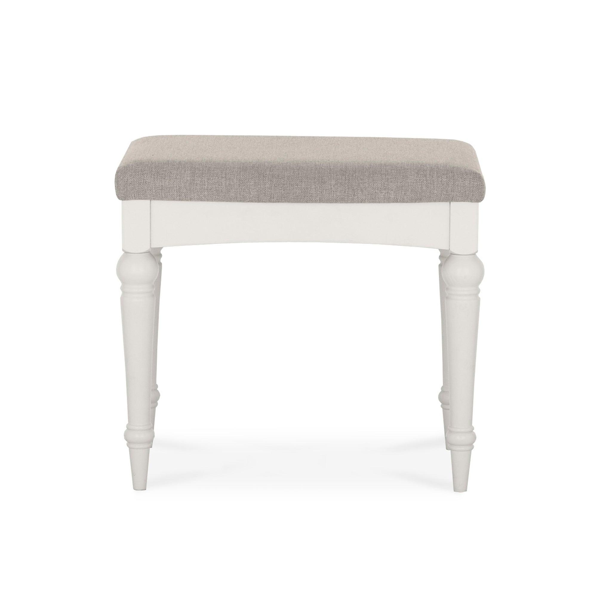 Sophia Grey Dressing Stool. Bedroom Chairs   Dunelm