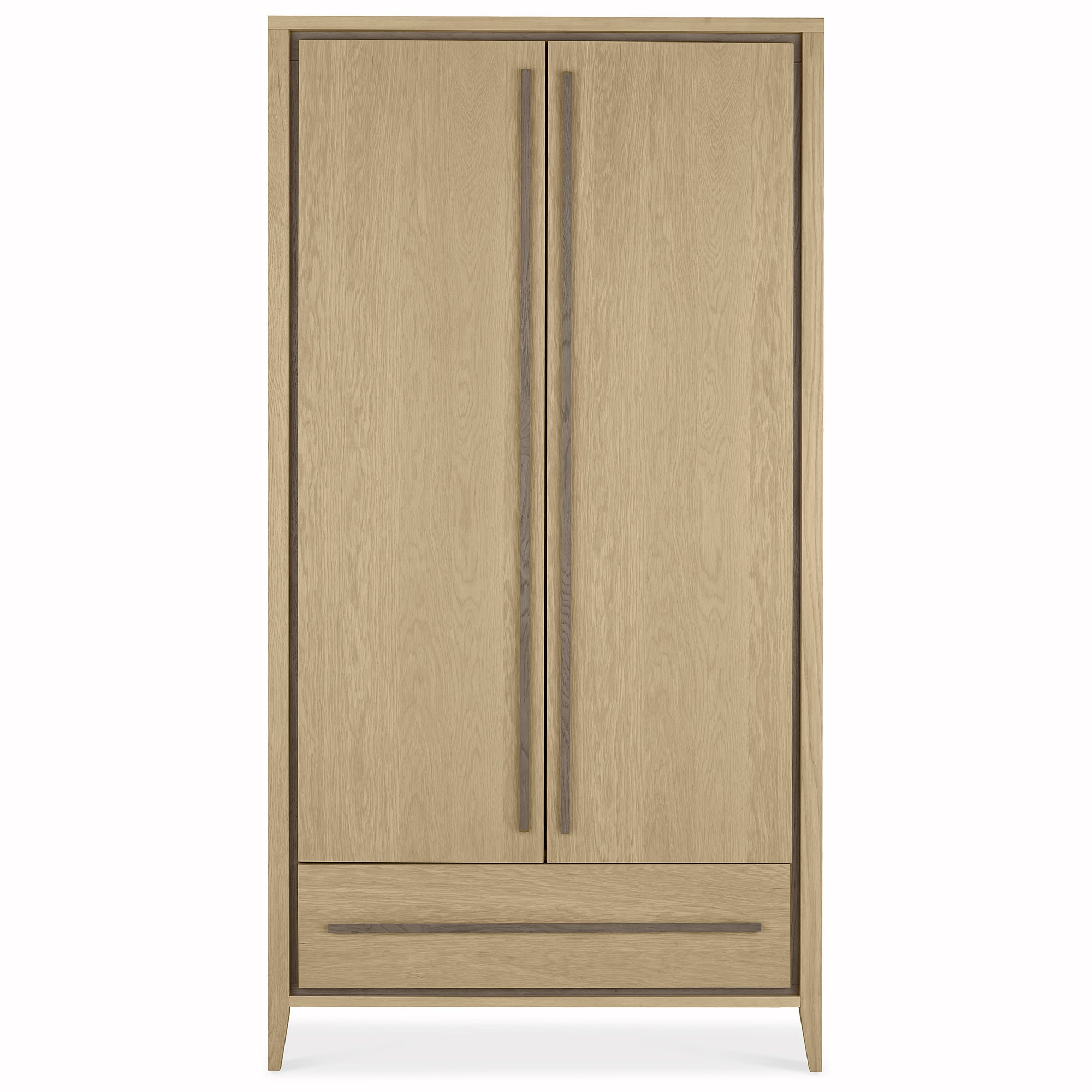 Photo of Mason oak double wardrobe oak -brown-