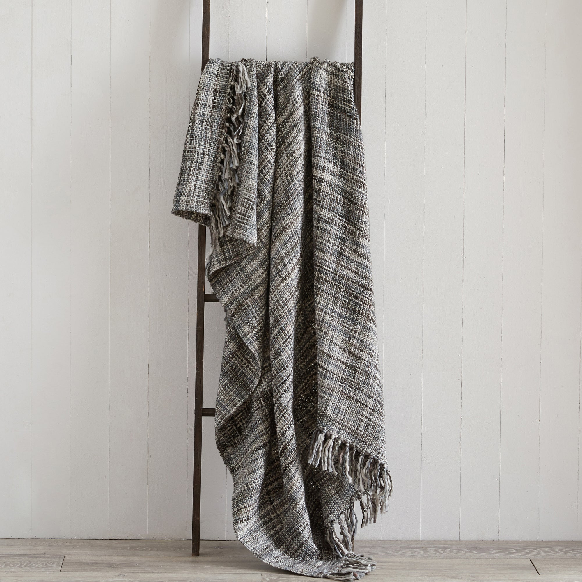 Image of Camden Grey Throw Grey