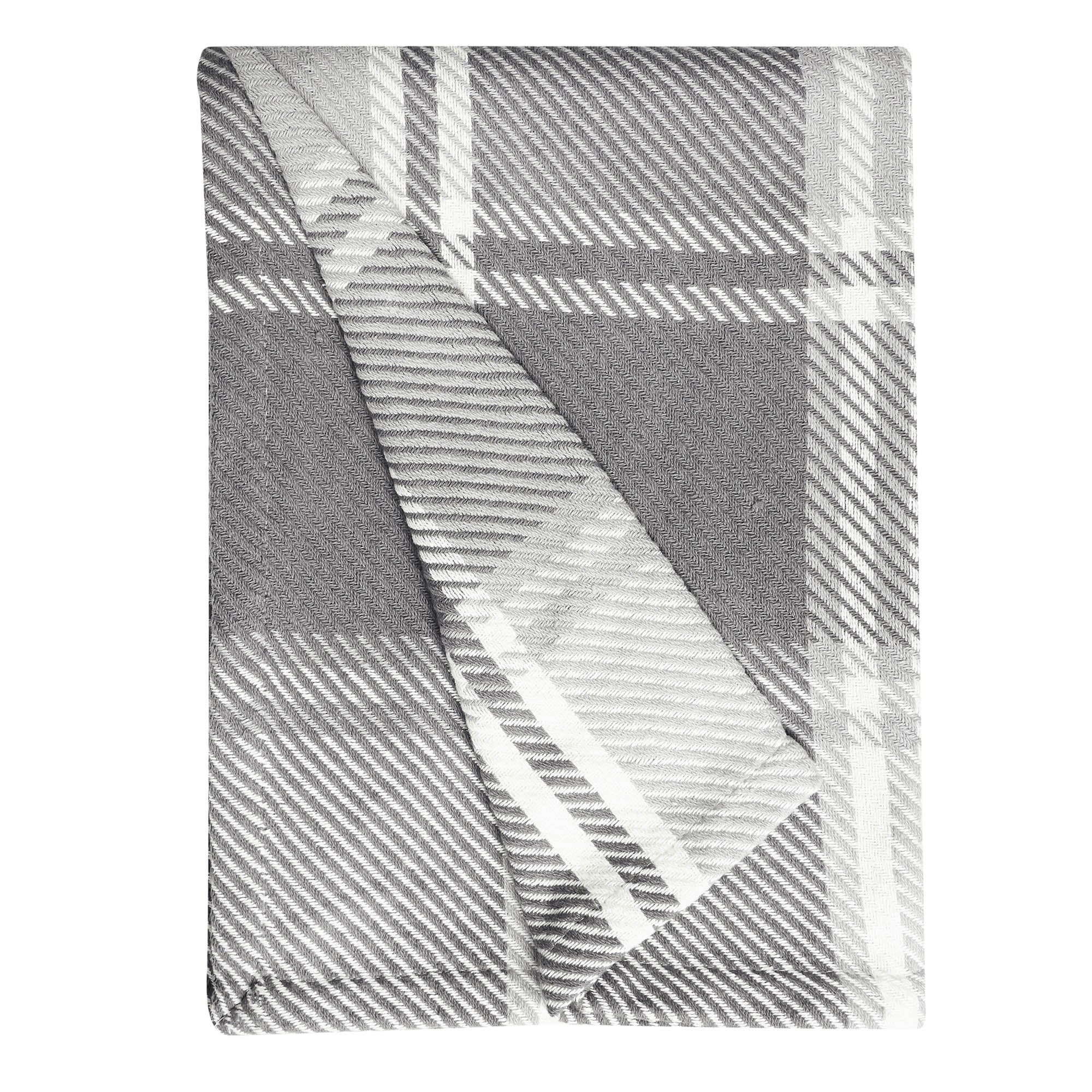 Image of Charcoal Carrie Throw Charcoal (Grey)