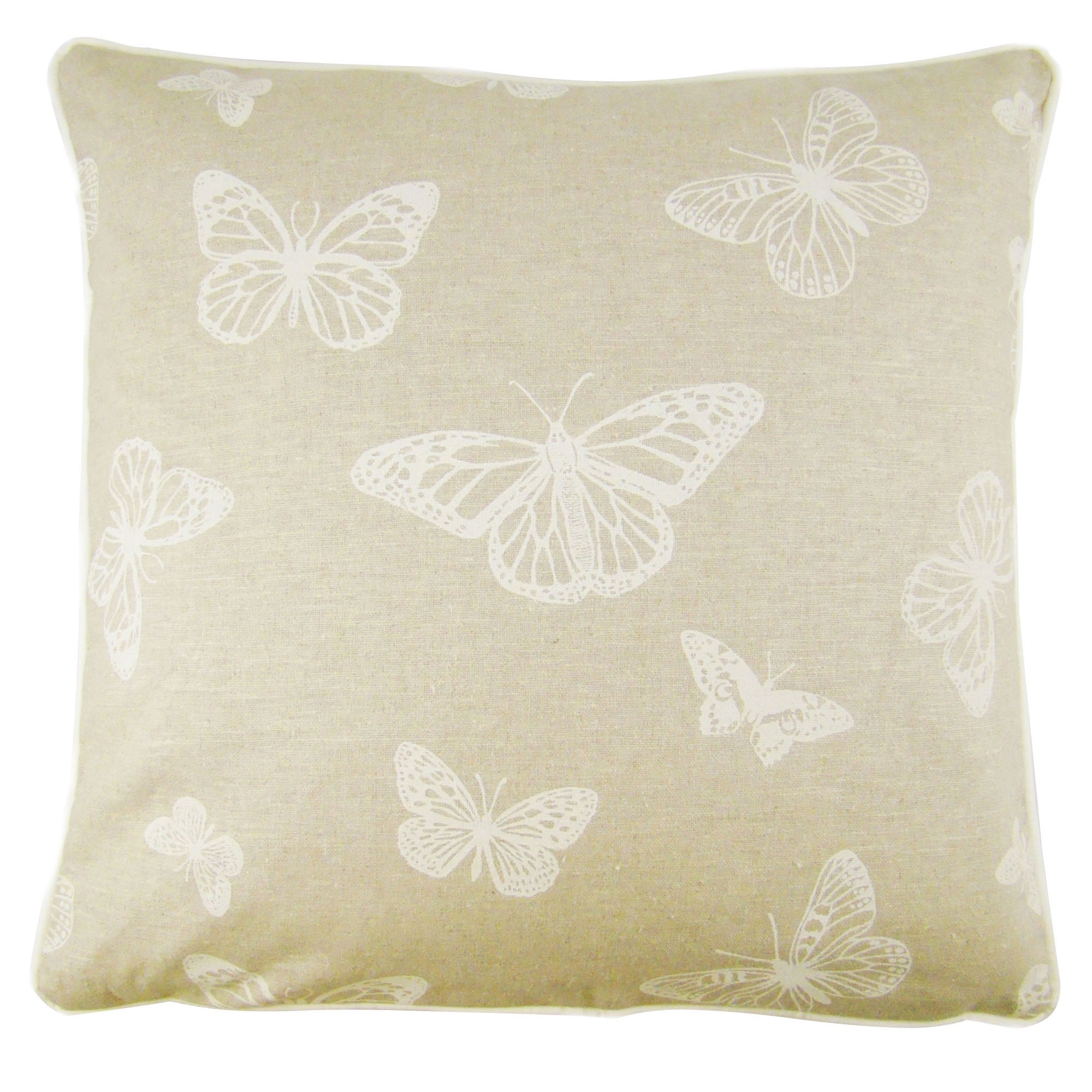 Photo of Butterfly cream cushion cover cream