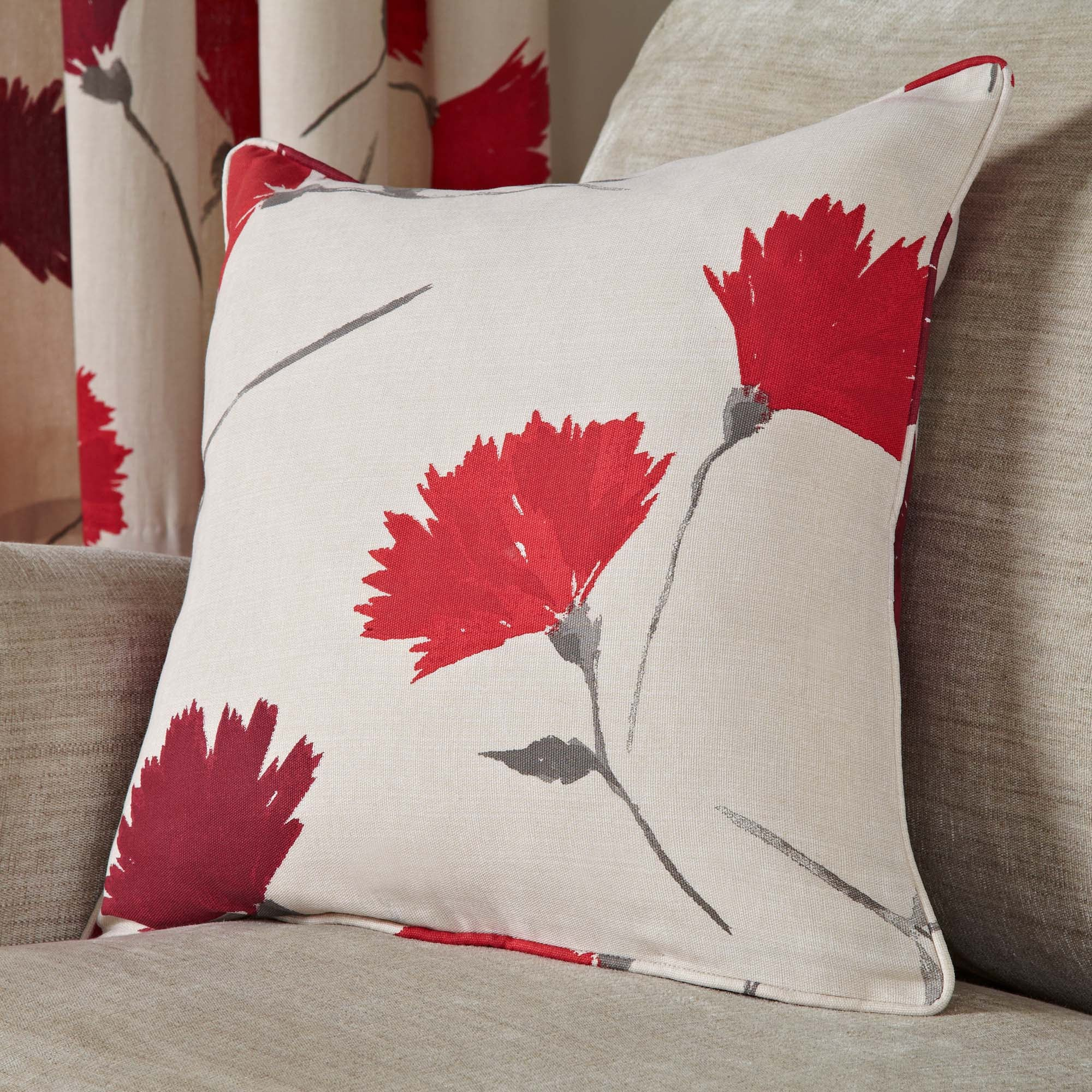 Photo of Aimee red cushion red