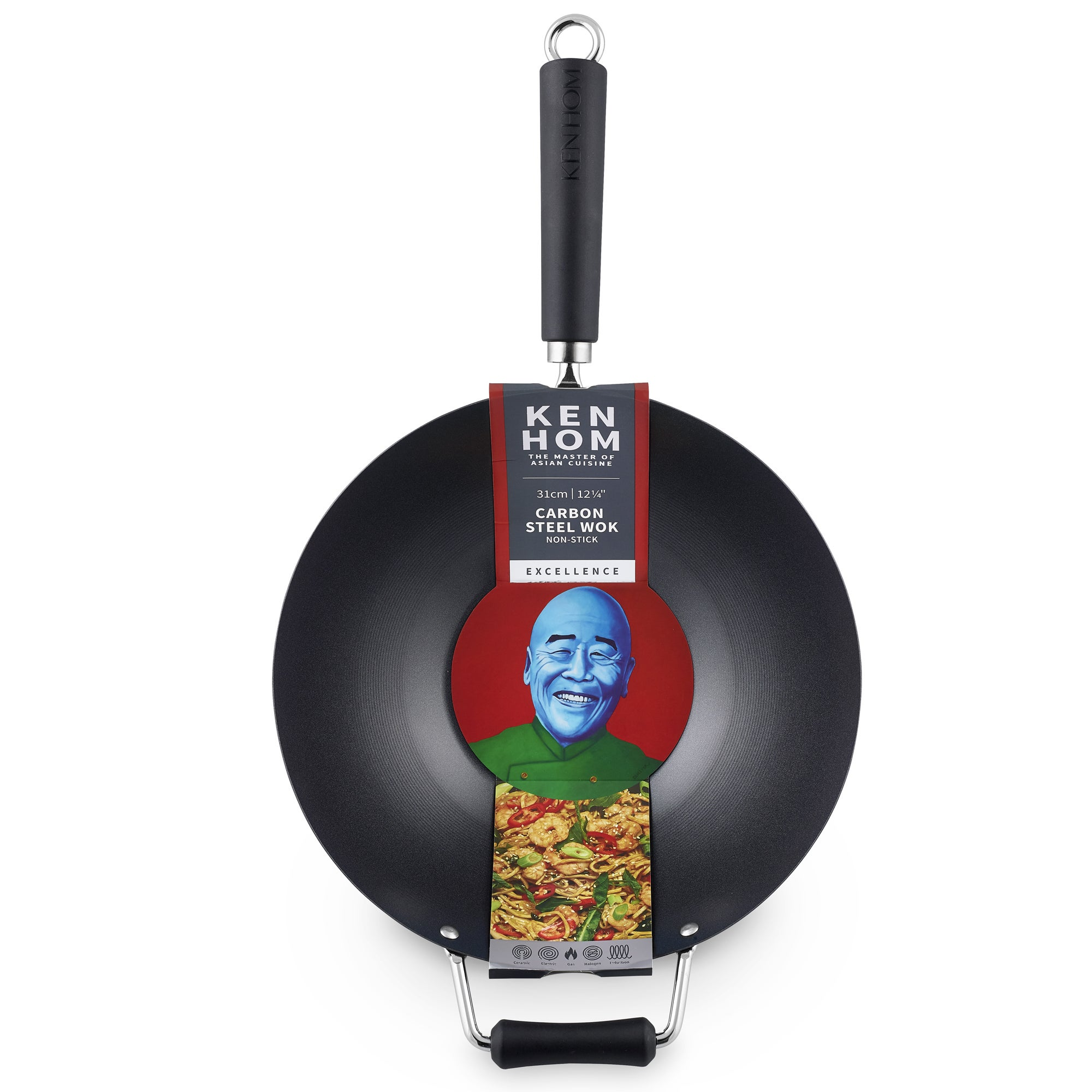 Ken Hom 32cm Performance Wok Black