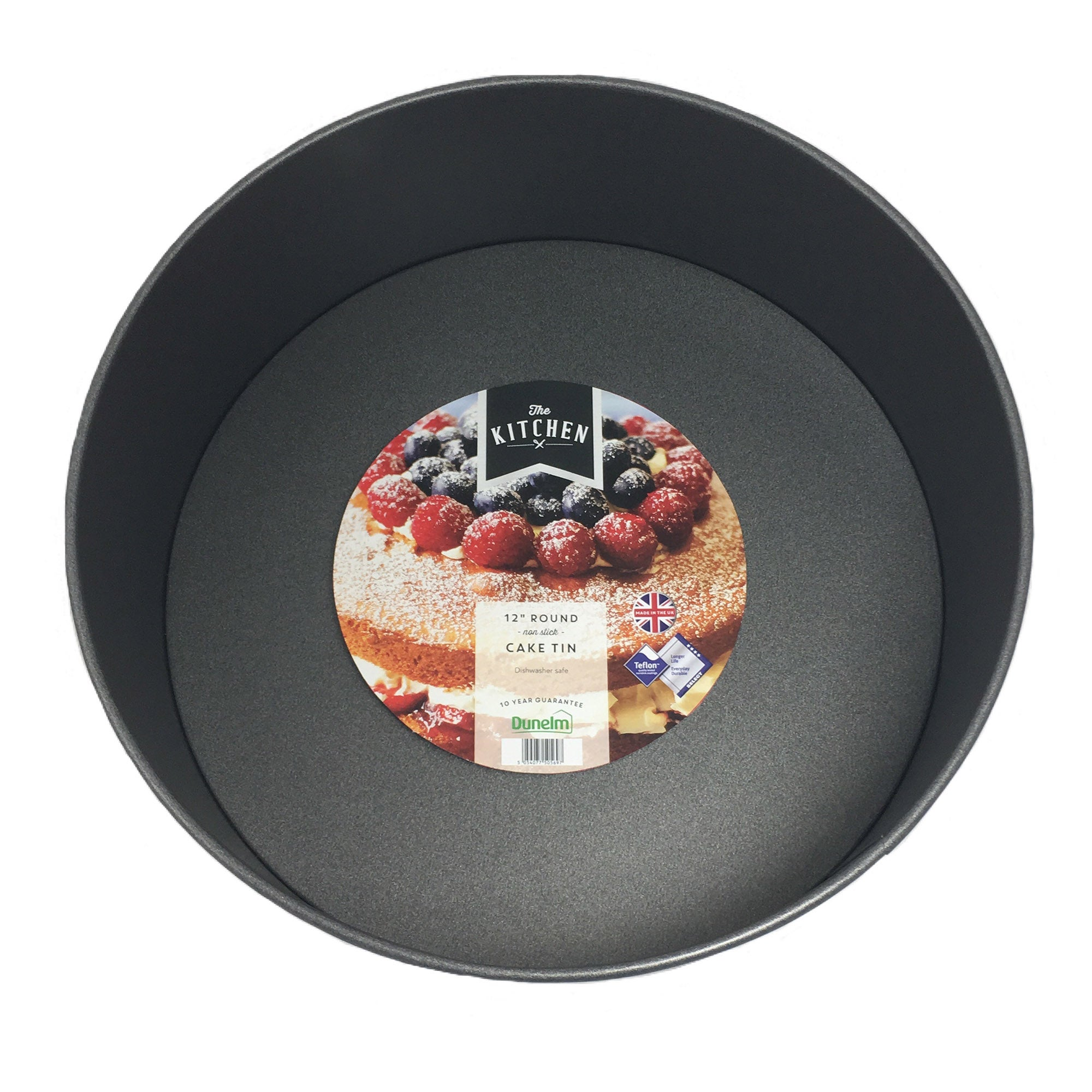 "Image of 12"" Round Cake Tn Black"