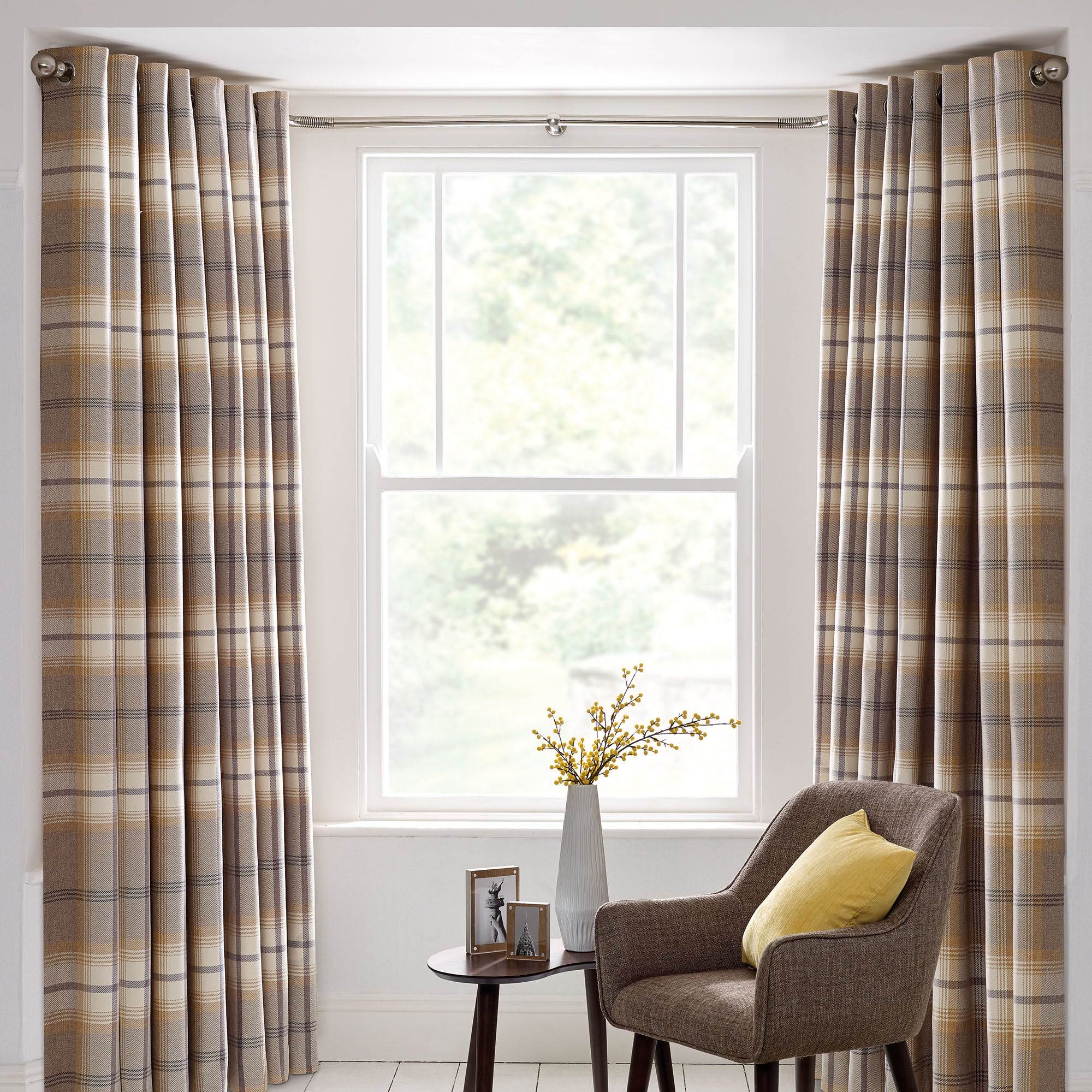 Bay Window Curtain Pole | Dunelm