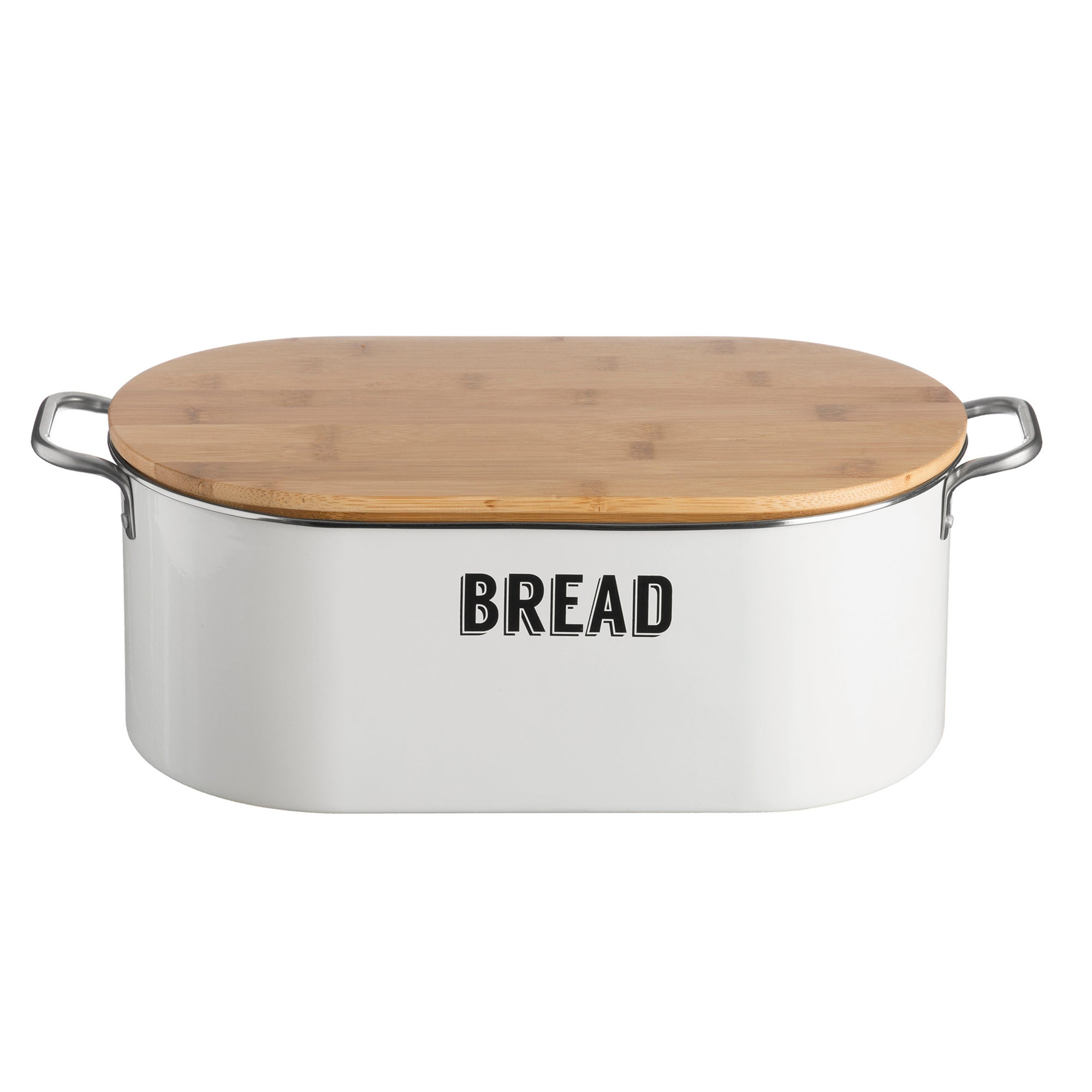 Typhoon Living Retro Bread Bin White