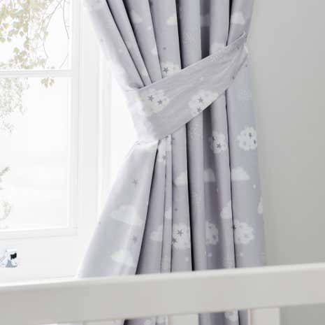 Sweet Dreams Blackout Pencil Pleat Curtains