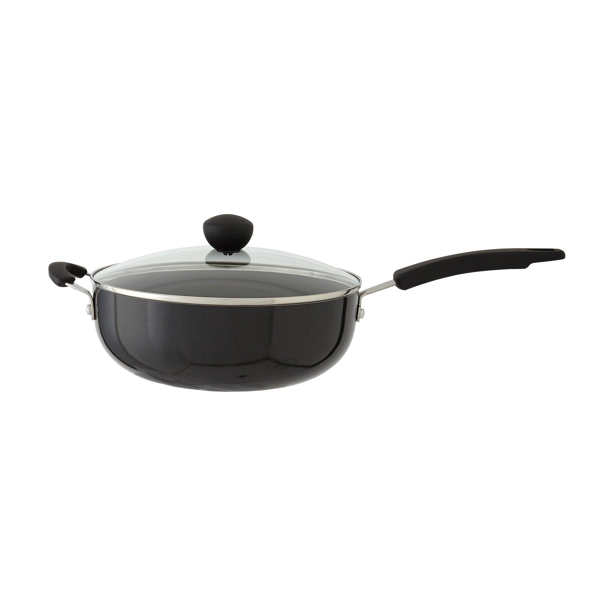 Photo of Dunelm 26cm aluminium everyday pan black