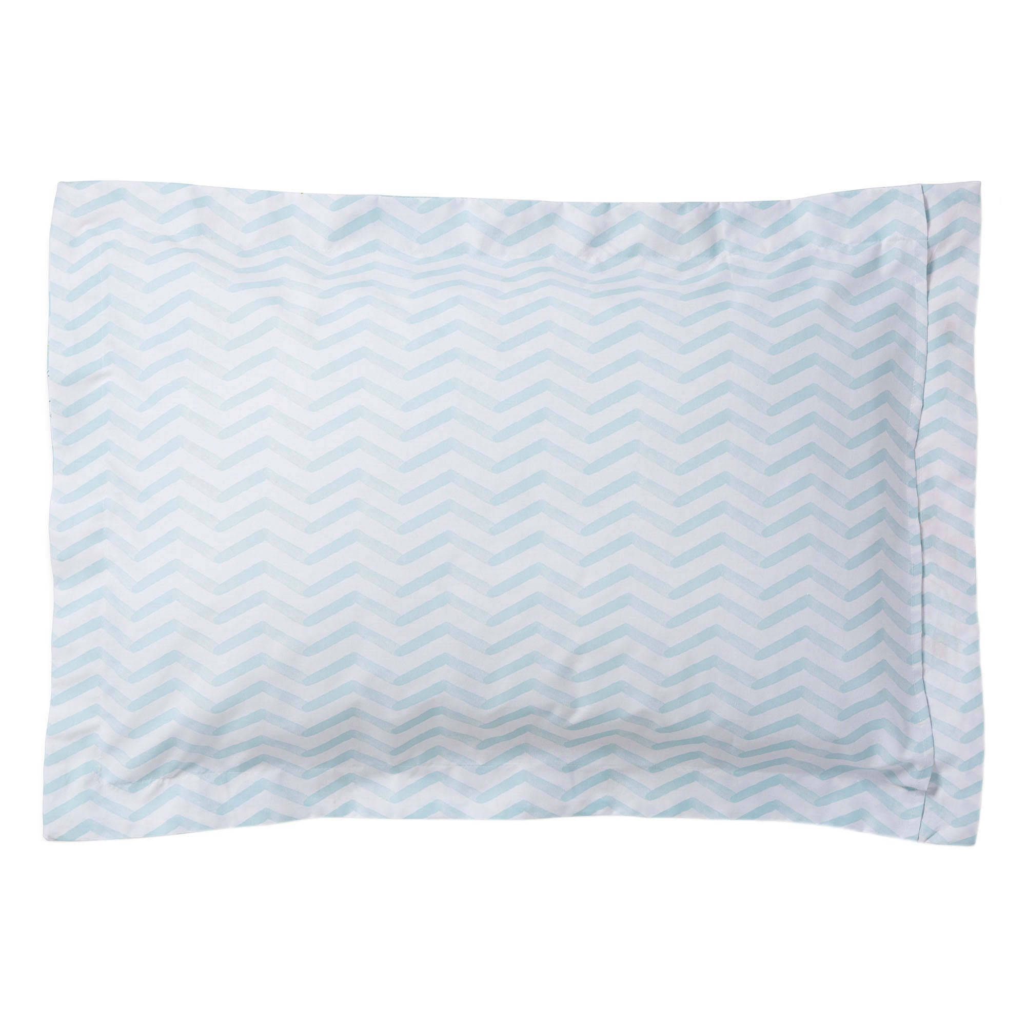Image of Anya Green Oxford Pillowcase Green
