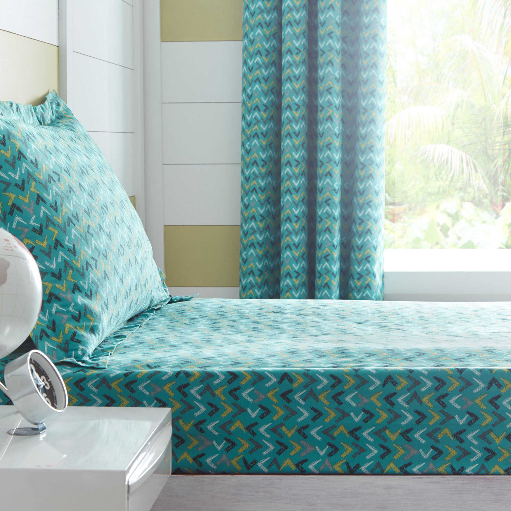 Image of Adventurer 25cm Single Fitted Sheet Teal
