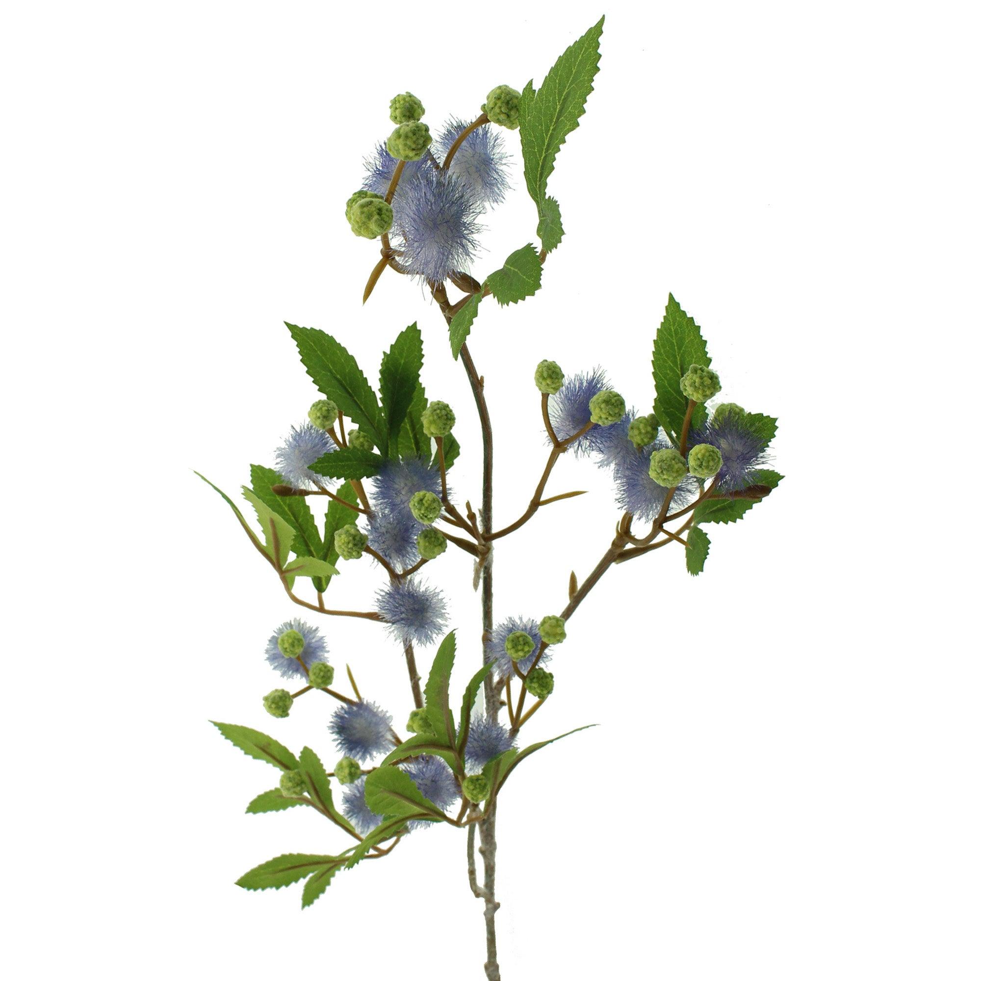 Image of Artificial Mist Flower Purple