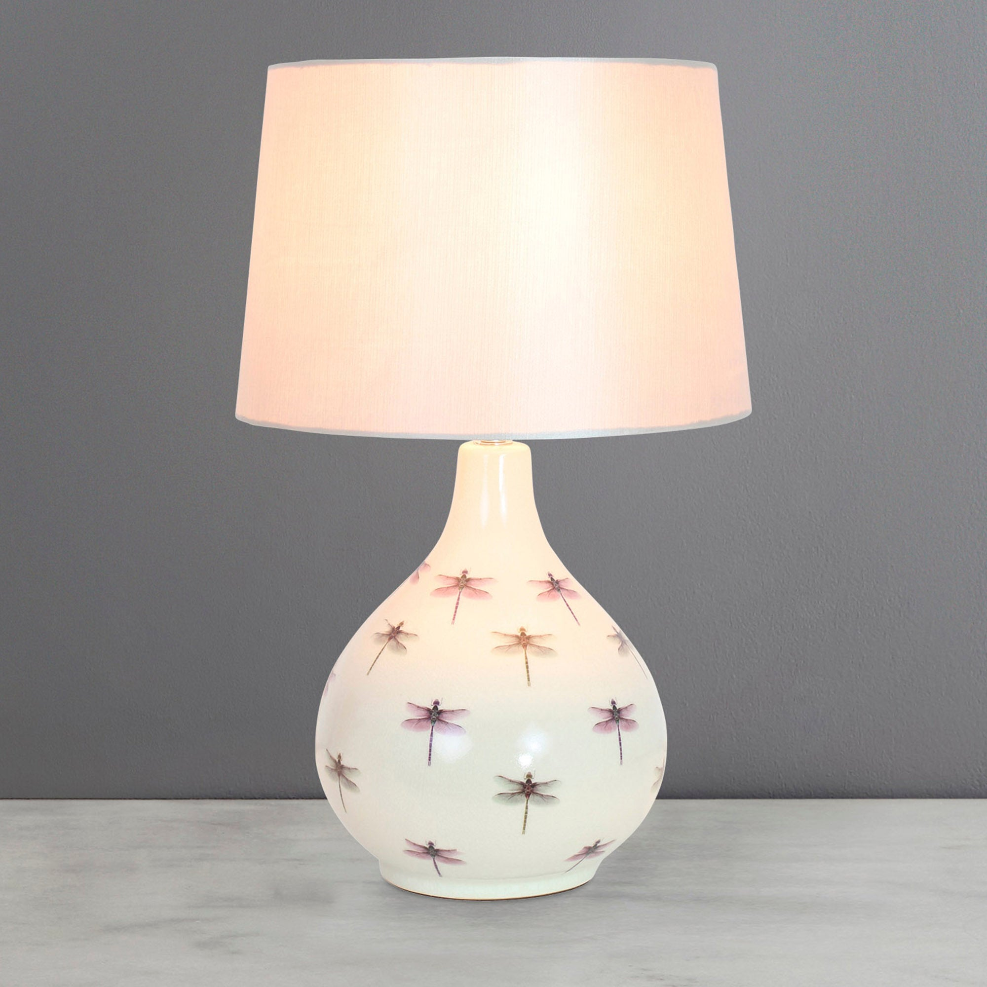 Photo of Dragonfly table lamp natural