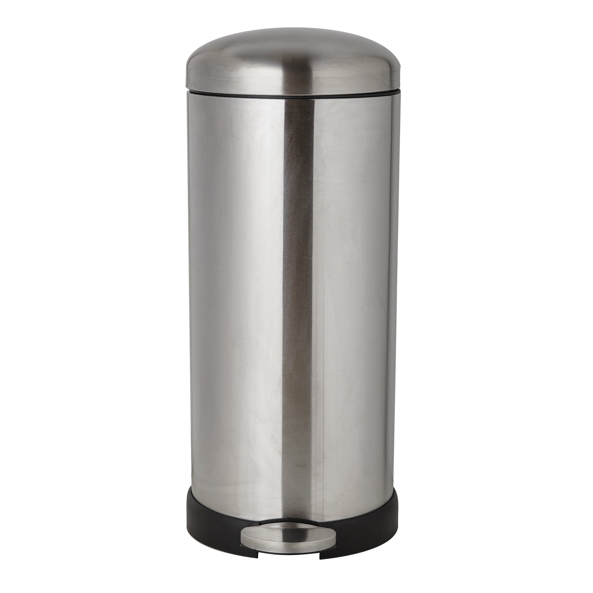 Photo of Dunelm 30 litre stainless steel pedal bin brushed steel