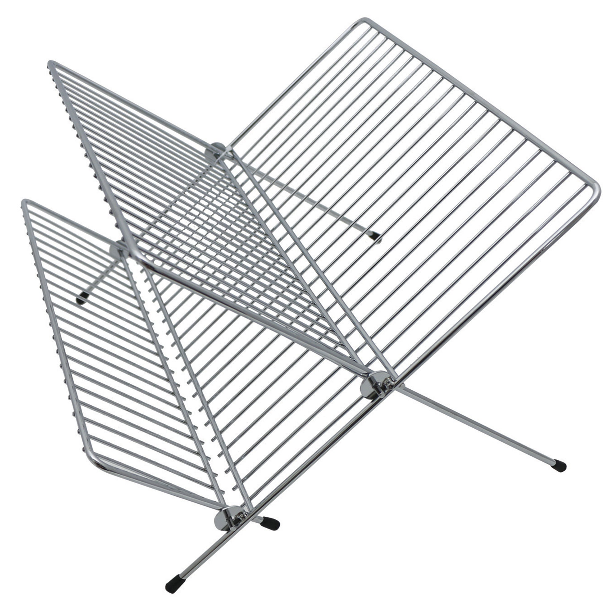 Photo of Wire folding draining rack silver