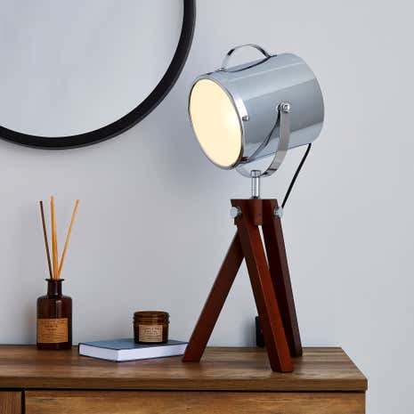 Marvelous Carlton Camera Tripod Table Lamp