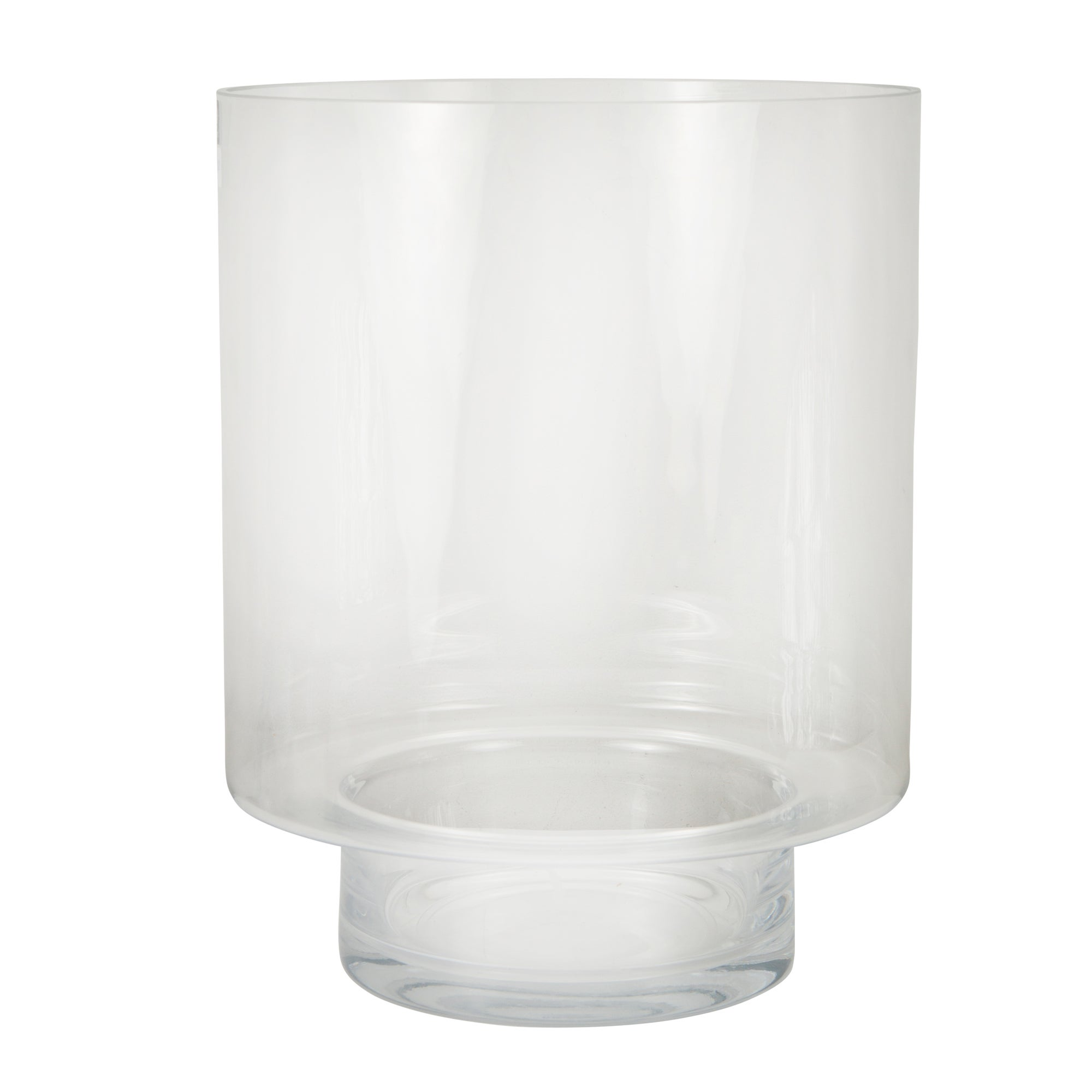 Photo of Elements extra large glass hurricane clear