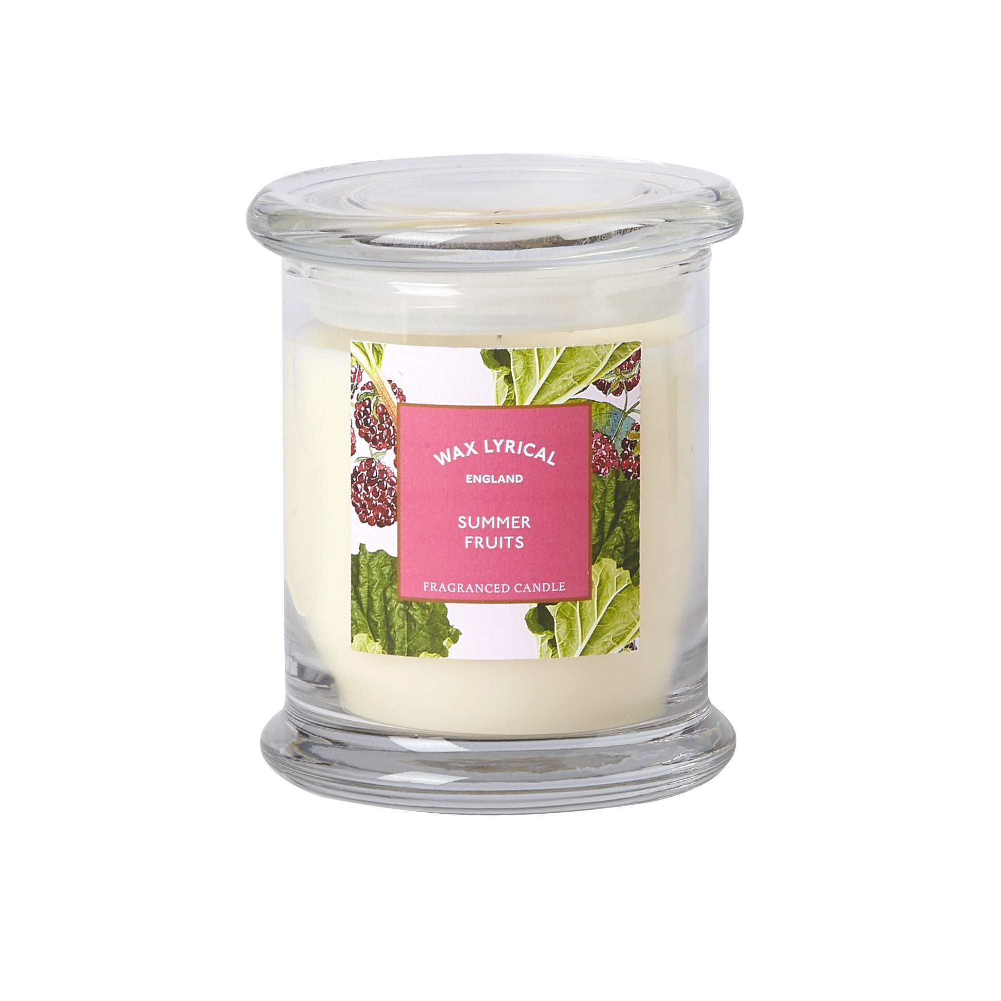 Image of Destinations Summer Fruits Candle Jar Cream (Natural)